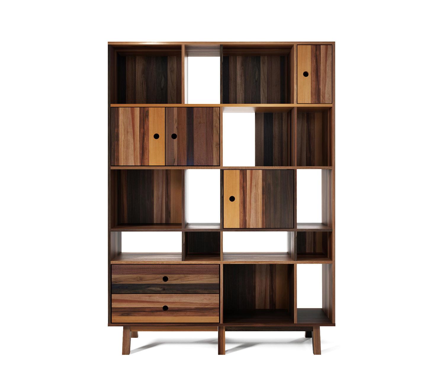 Купить стеллаж книжный franklin h161 от дизайнеров teakhouse.