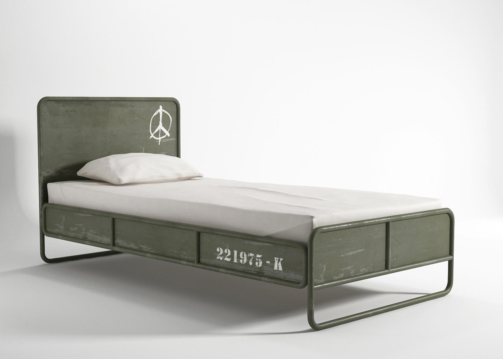 Deserter Bed Single Size Single Beds From Karpenter Architonic