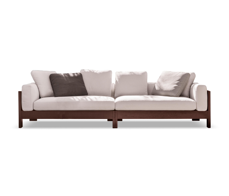 Alison dark brown outdoor garden sofas from minotti - Sofas granfort precios ...