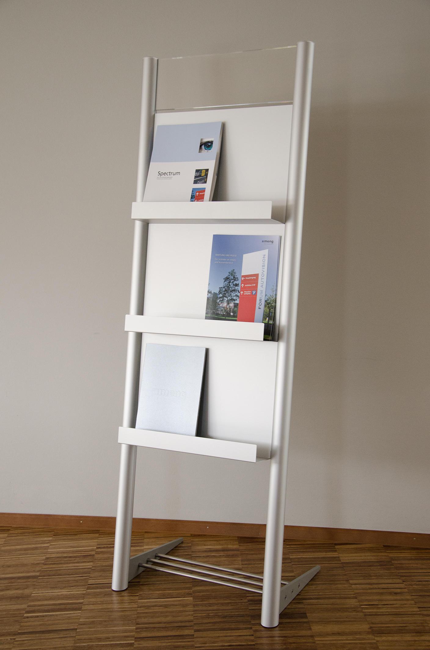 Tube+panel Mobile Upright D By Meng Informationstechnik | Display Stands ...