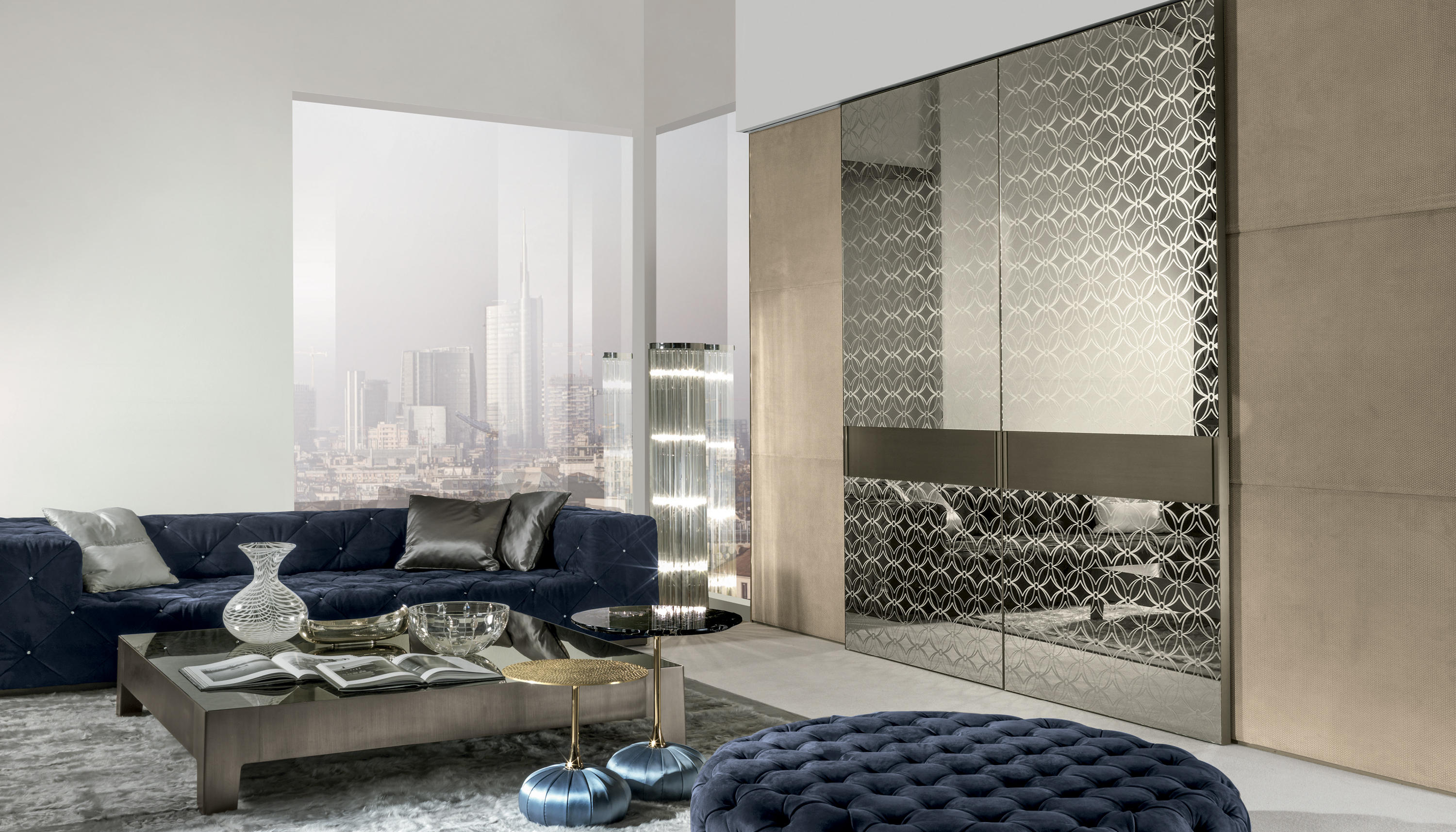 Headline glass room doors from longhi architonic for Longhi arredamenti