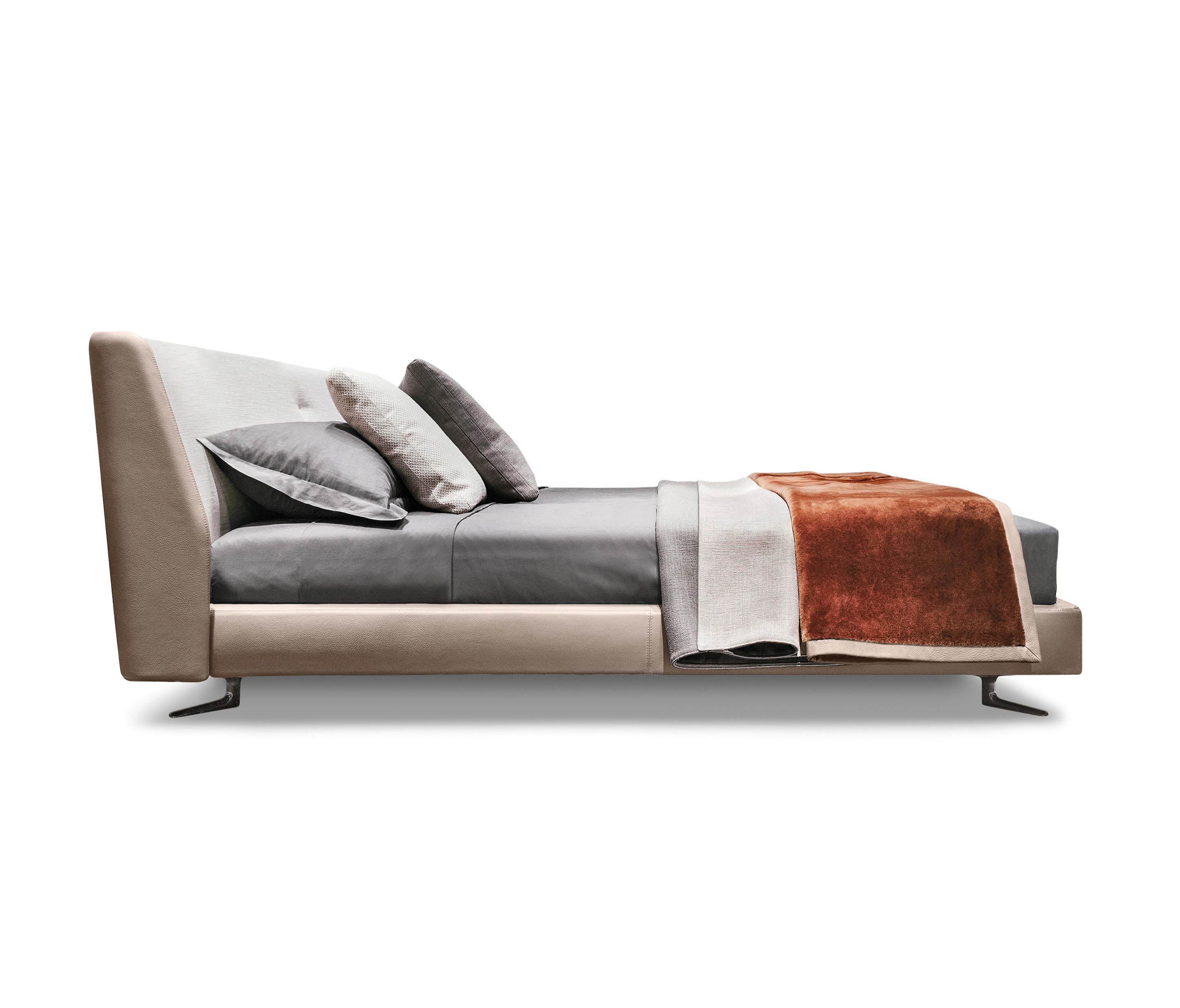 Spencer Bed Double Beds From Minotti Architonic