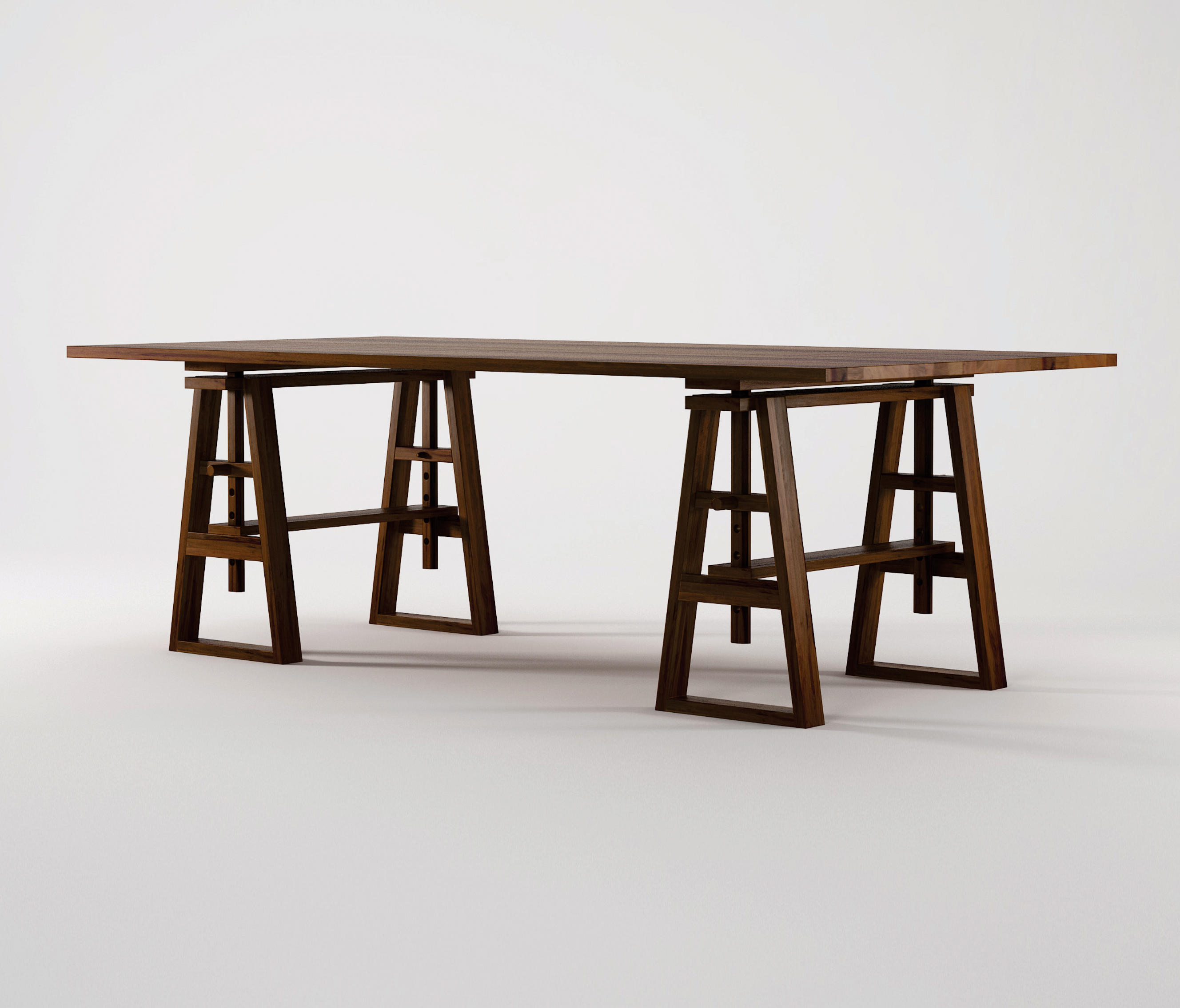 Trestle DINING TABLE by Karpenter | Dining tables ... : trestle table dining set - pezcame.com