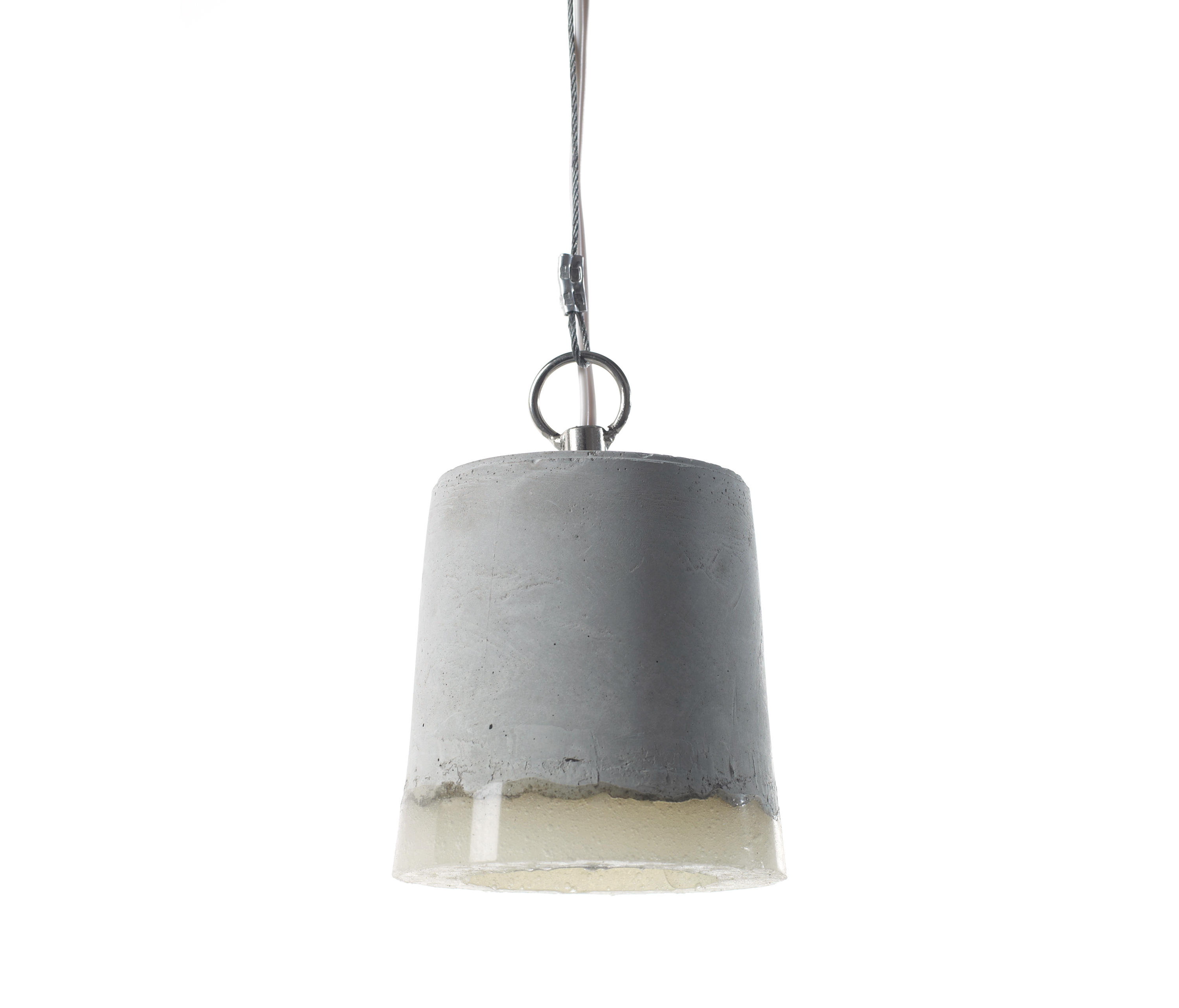 crowdyhouse concrete rota shop pendant grey lamp on