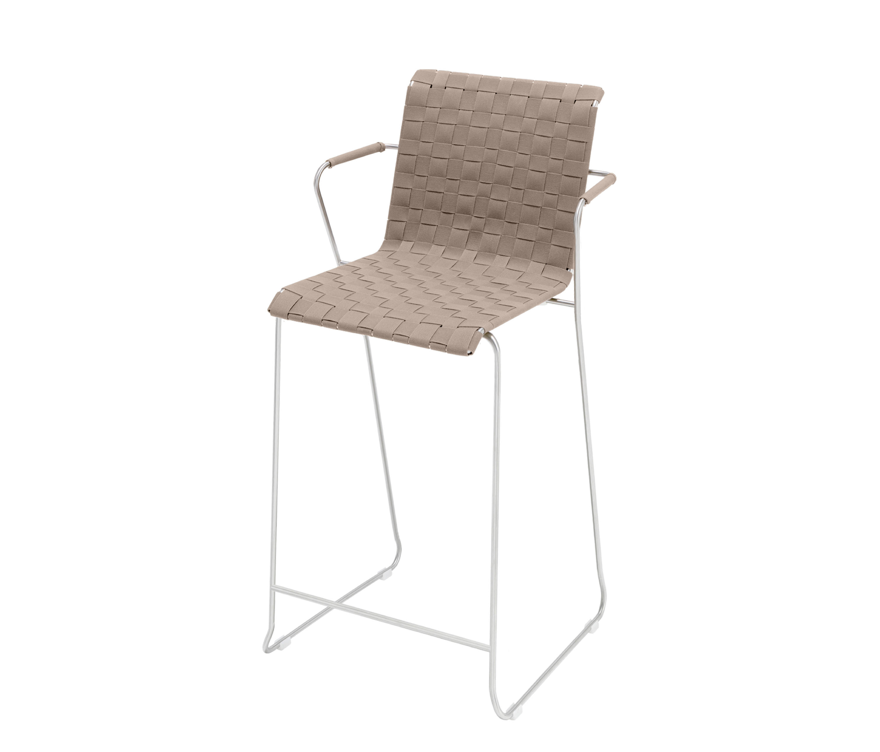 Slim Collection Lounge | Barstool Belt With Armrest By Viteo | Bar Stools