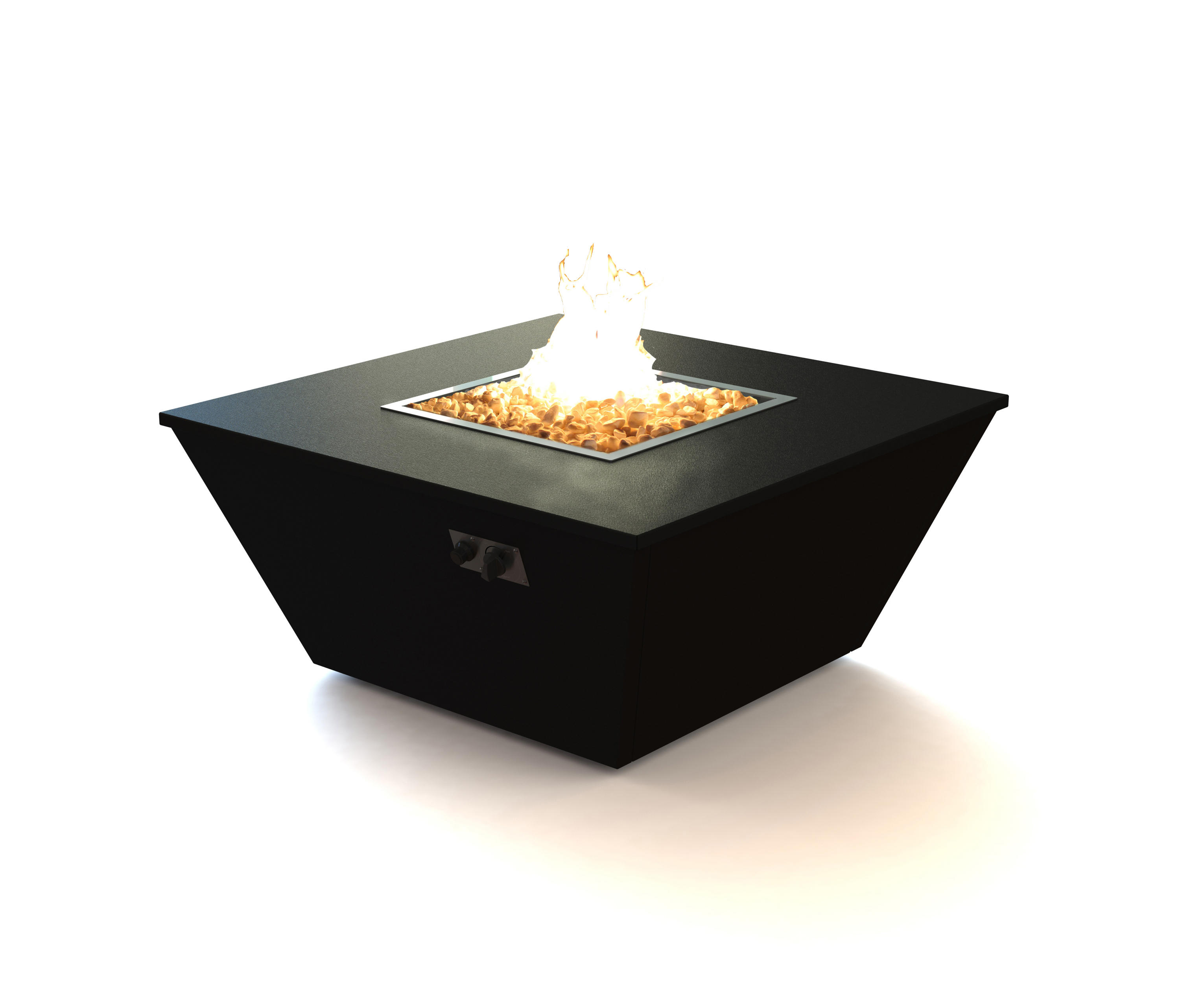 Aztec Gas Fire Table By Rivelin | Fire Tables ...