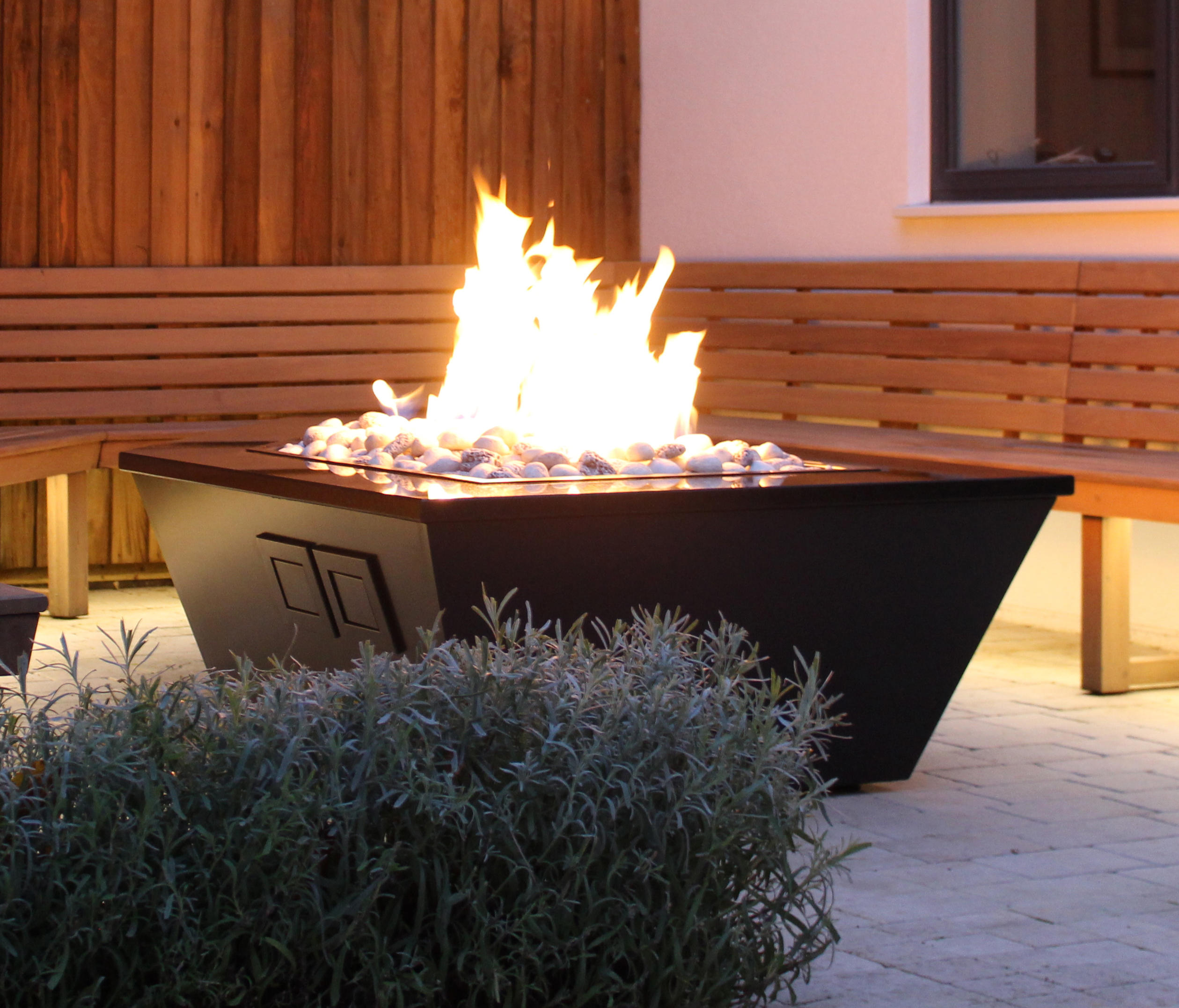 Costume Made Fire Table By Rivelin | Garden Fire Pits ...
