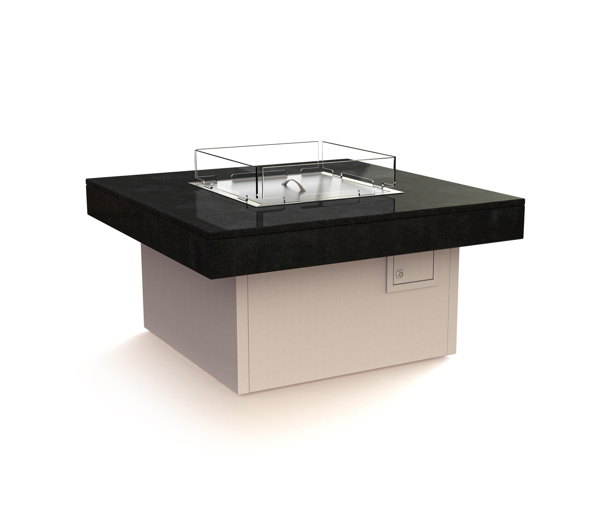 Manhattan Gas Fire Table Architonic