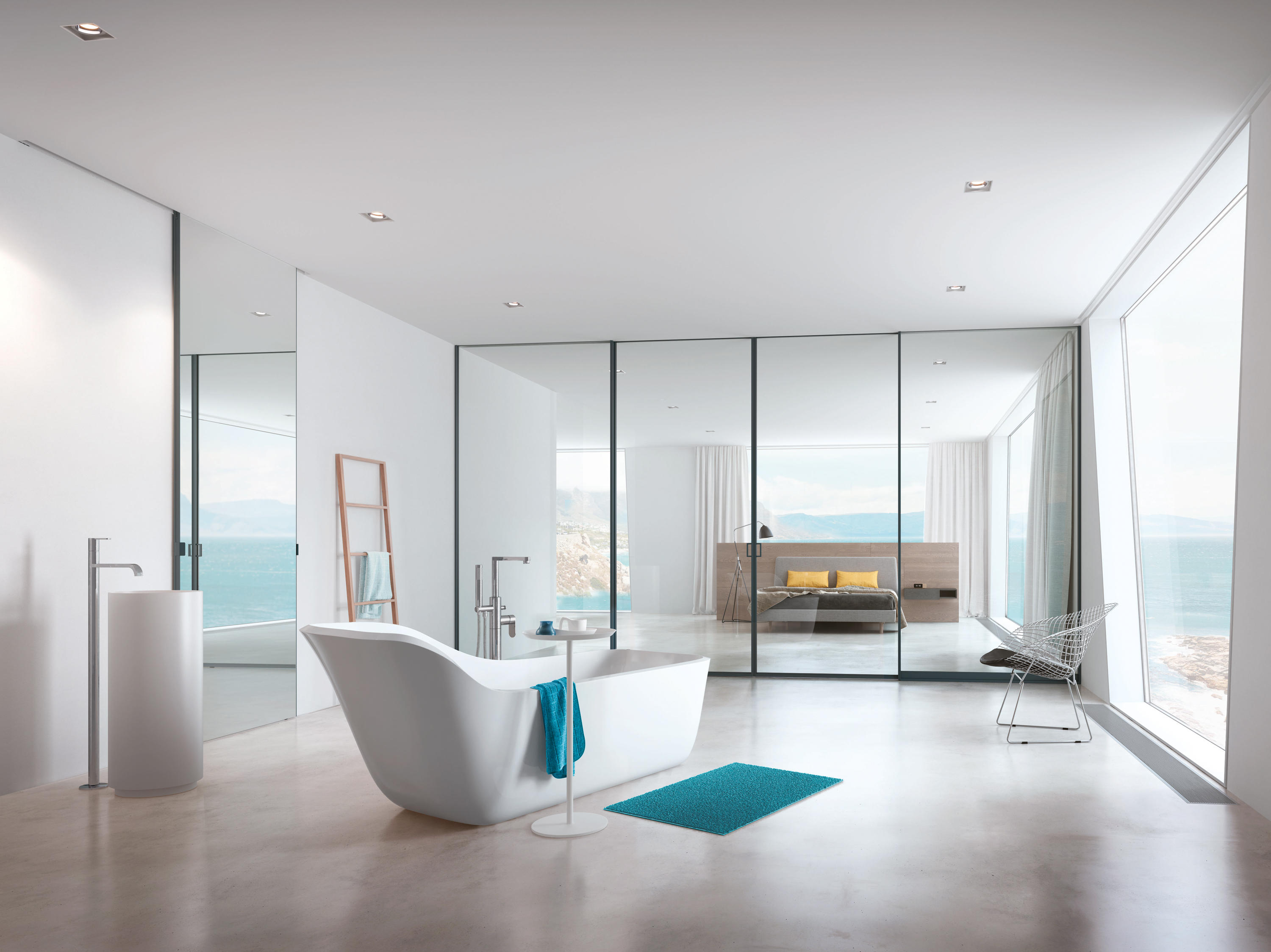 Sliding door s800 - S 1500 Air Syncro Sliding Door System By Raumplus Partitions