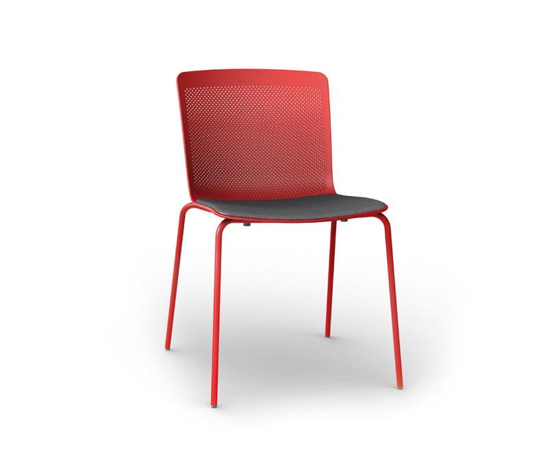 Glove sillas de visita de forma 5 architonic for Silla glove forma 5
