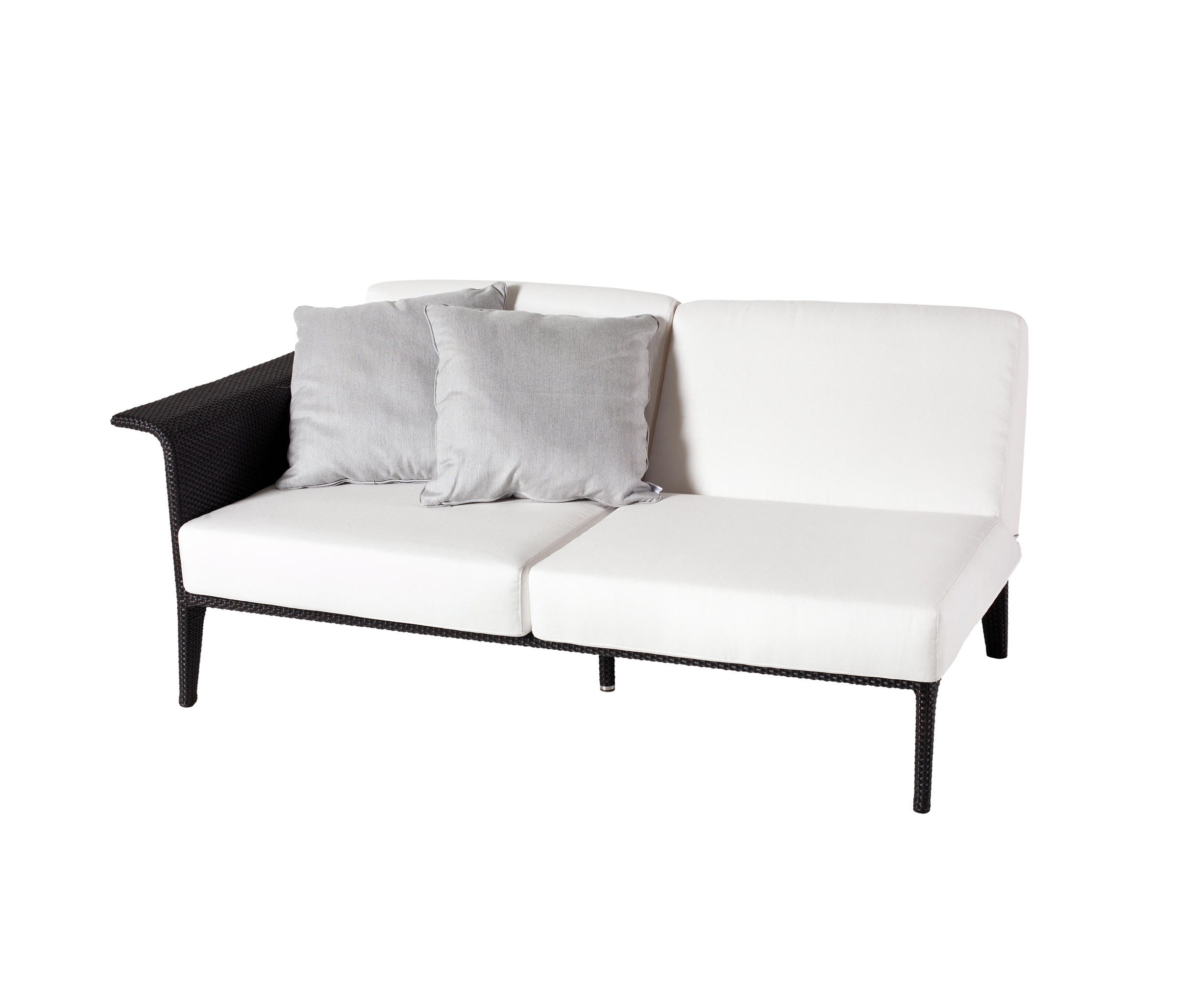 u modul sofa 2 armlehne rechts gartensofas von point architonic. Black Bedroom Furniture Sets. Home Design Ideas