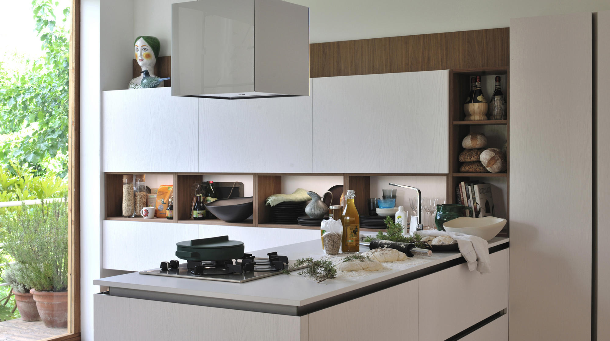 Oyster pro fitted kitchens from veneta cucine architonic - Veneta cucine oyster ...