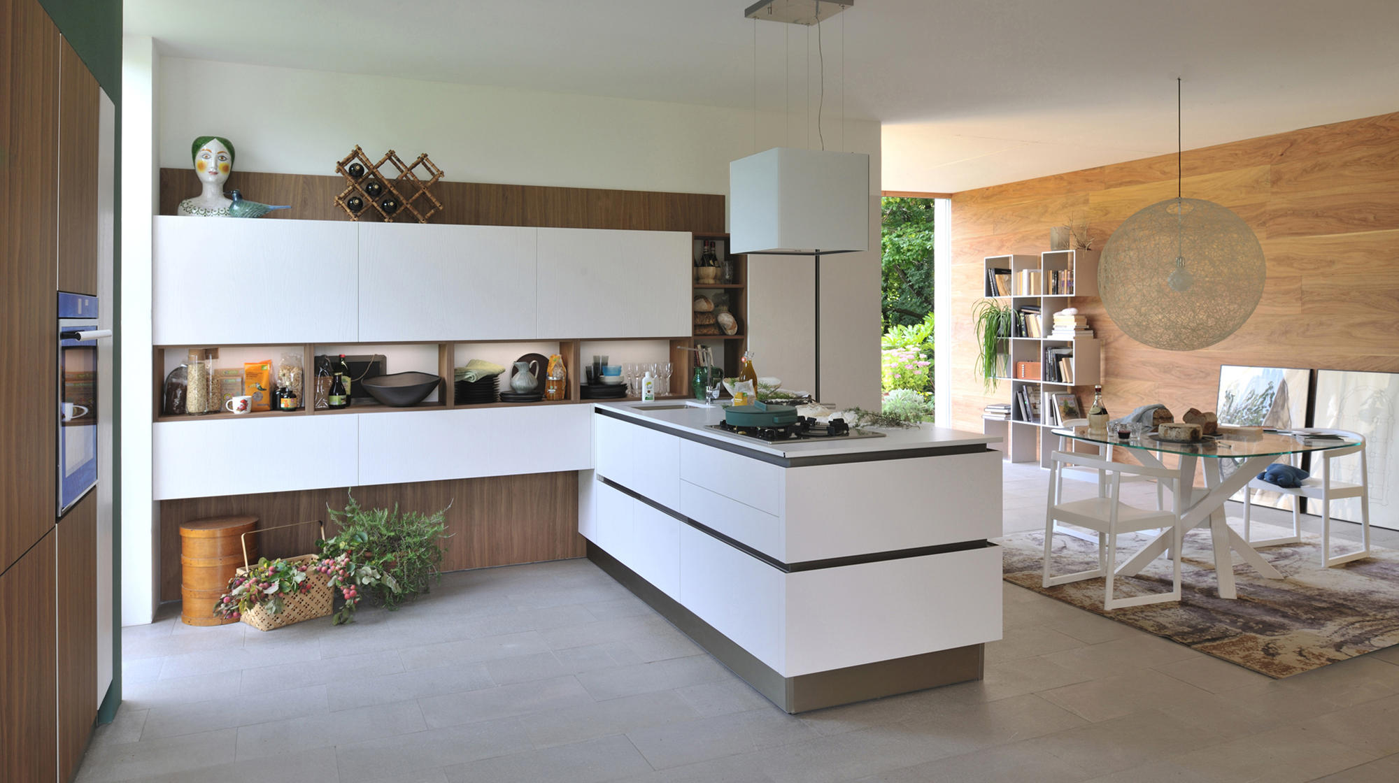 Oyster pro fitted kitchens from veneta cucine architonic for Home cucine
