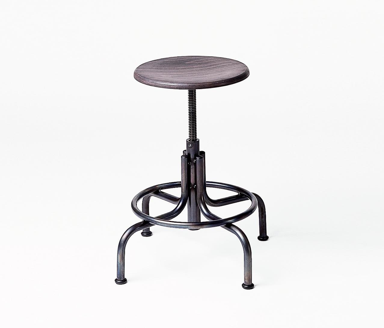 industrie stool tabourets de bureau de lambert architonic. Black Bedroom Furniture Sets. Home Design Ideas