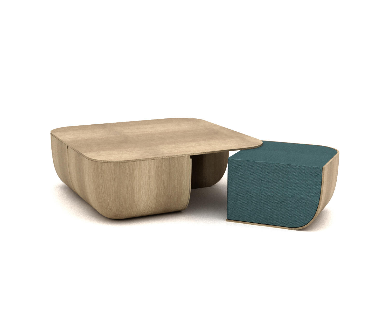 Anemos poufs from cappellini architonic - Table salon avec pouf ...
