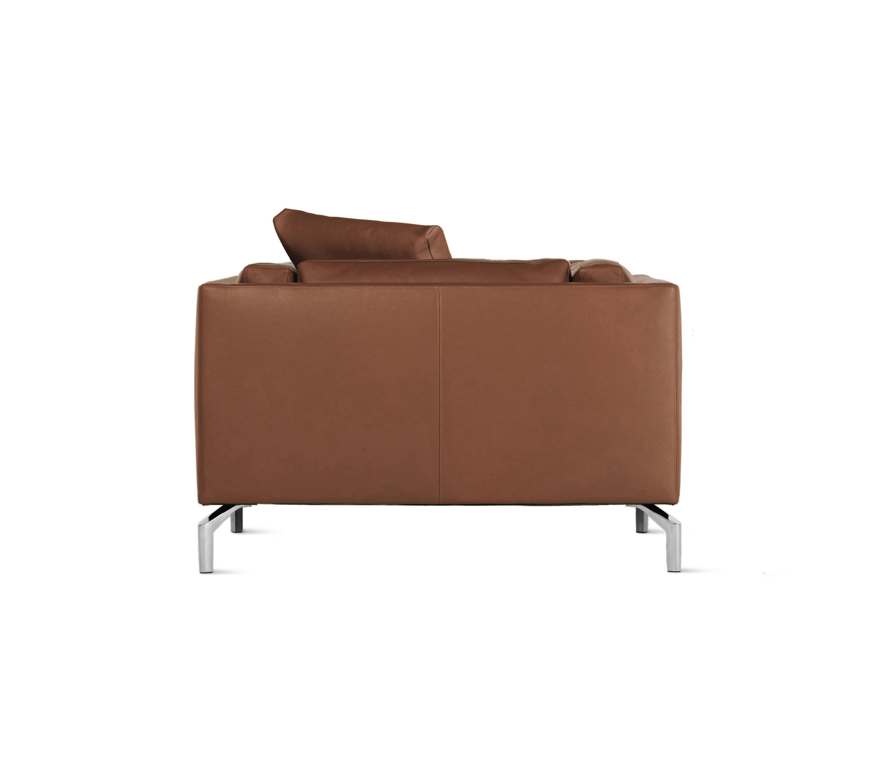 Overview designer manufacturer media reviews -  Como Armchair In Leather By Design Within Reach Armchairs
