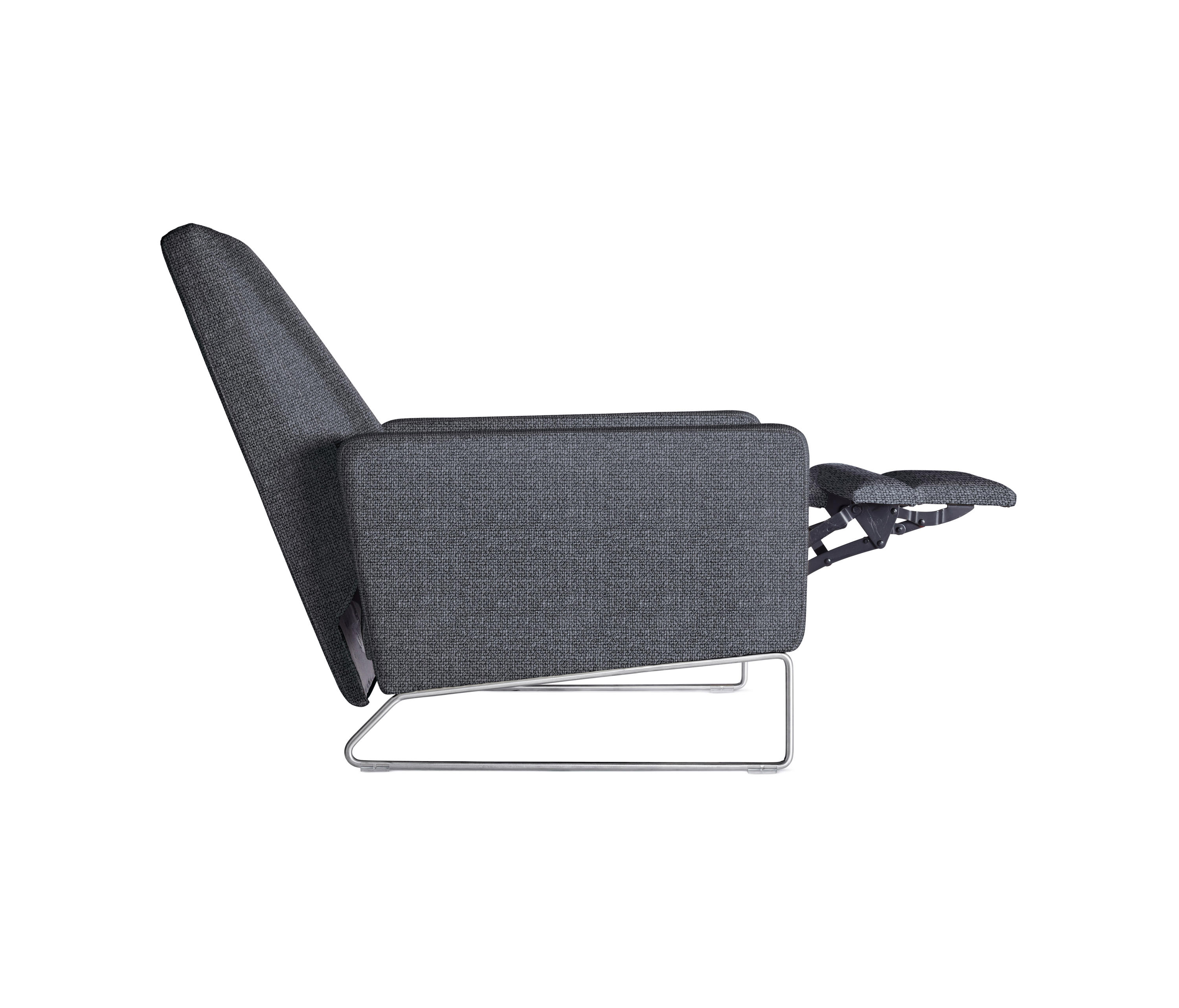 Flight Recliner In Fabric Armchairs From Design Within