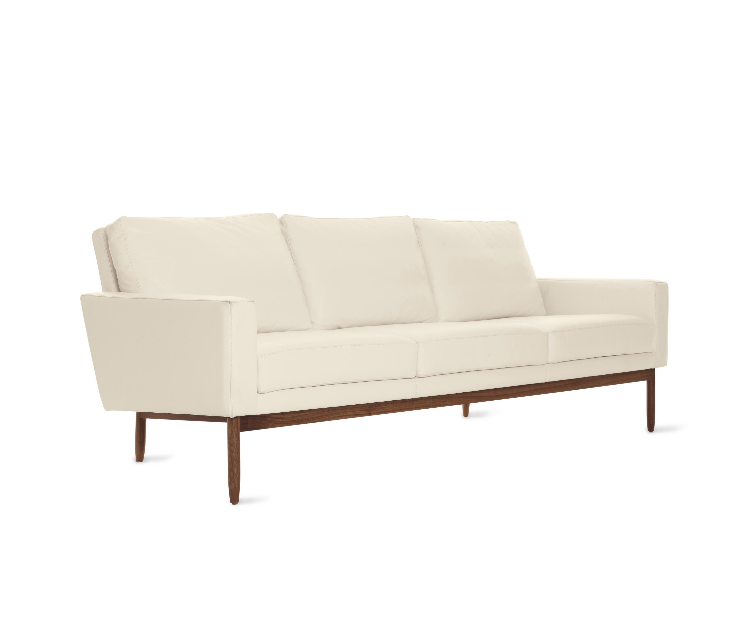 Raleigh sofa in leather sofas from design within reach for Sectional sofas raleigh