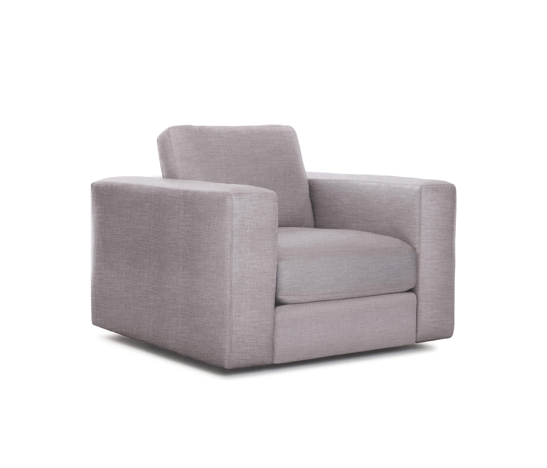 Reid Swivel Armchair In Fabric Sessel Von Design Within