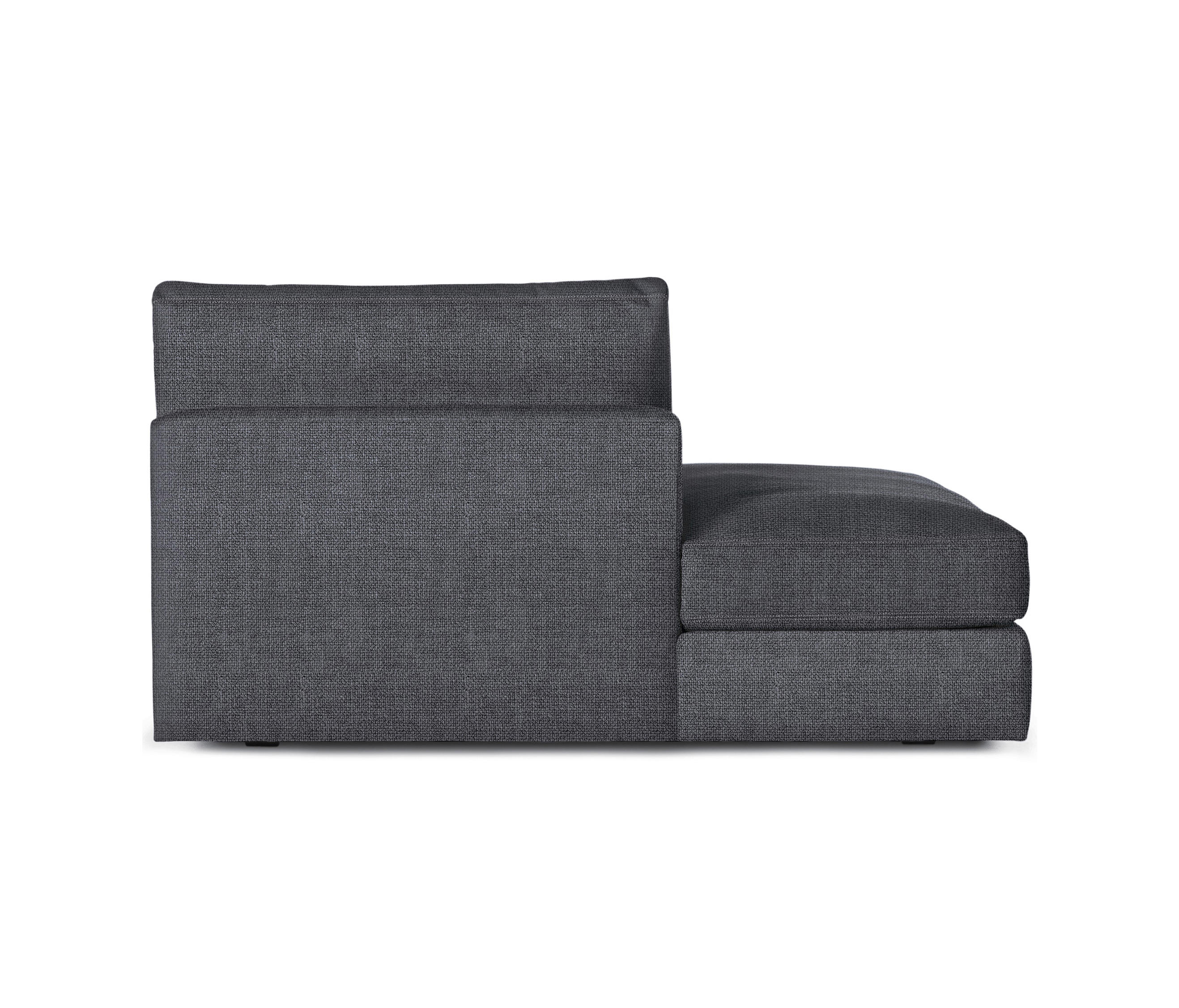 Reid Side Chaise Left In Fabric Sofas From Design Within