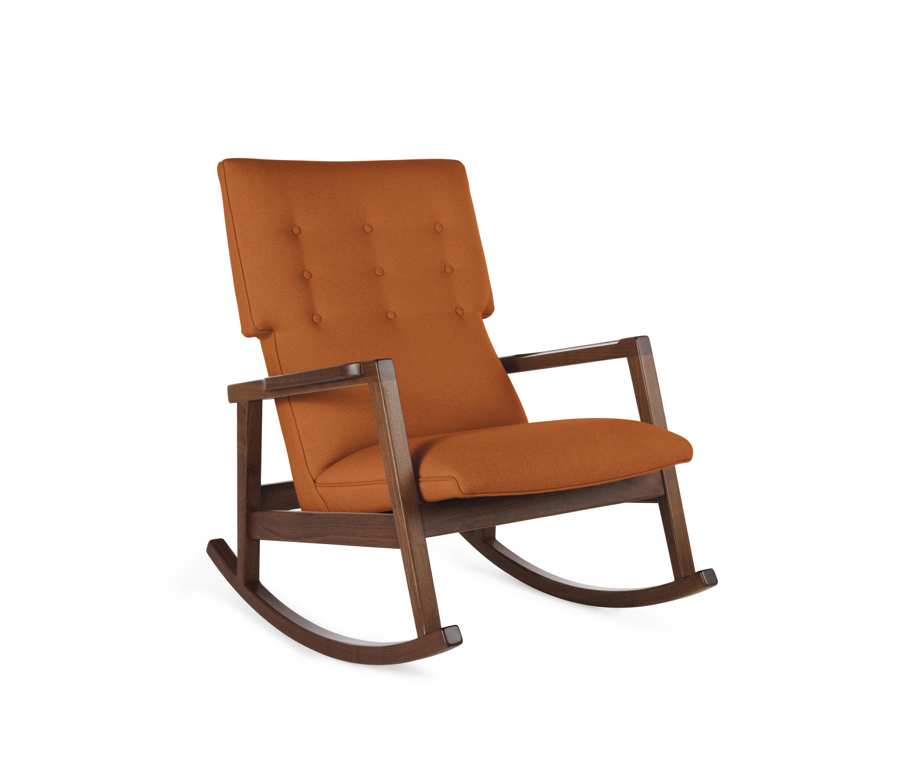 Chairs design within reach -  Risom Rocker By Design Within Reach Armchairs