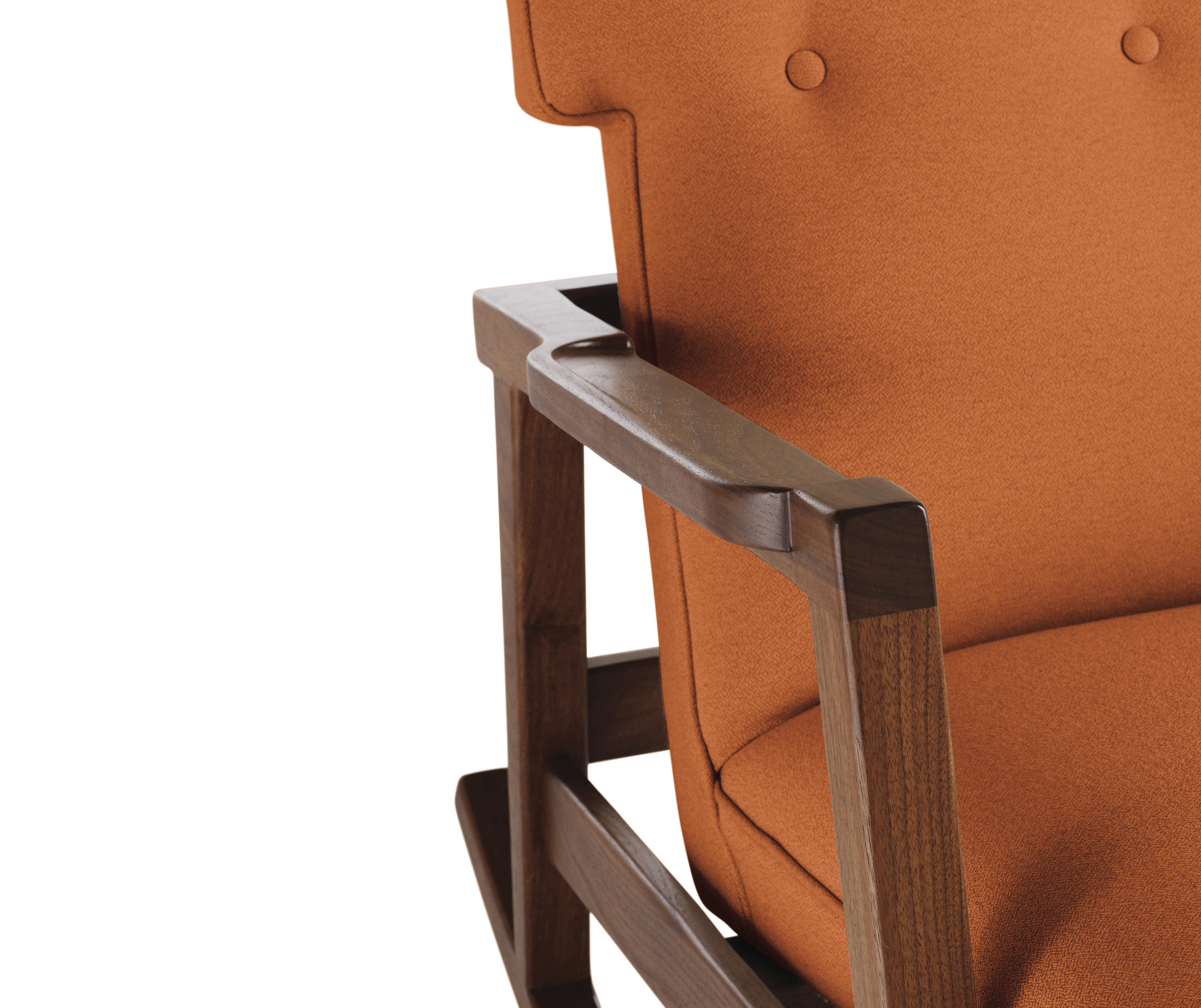 Risom Rocker Armchairs From Design Within Reach Architonic