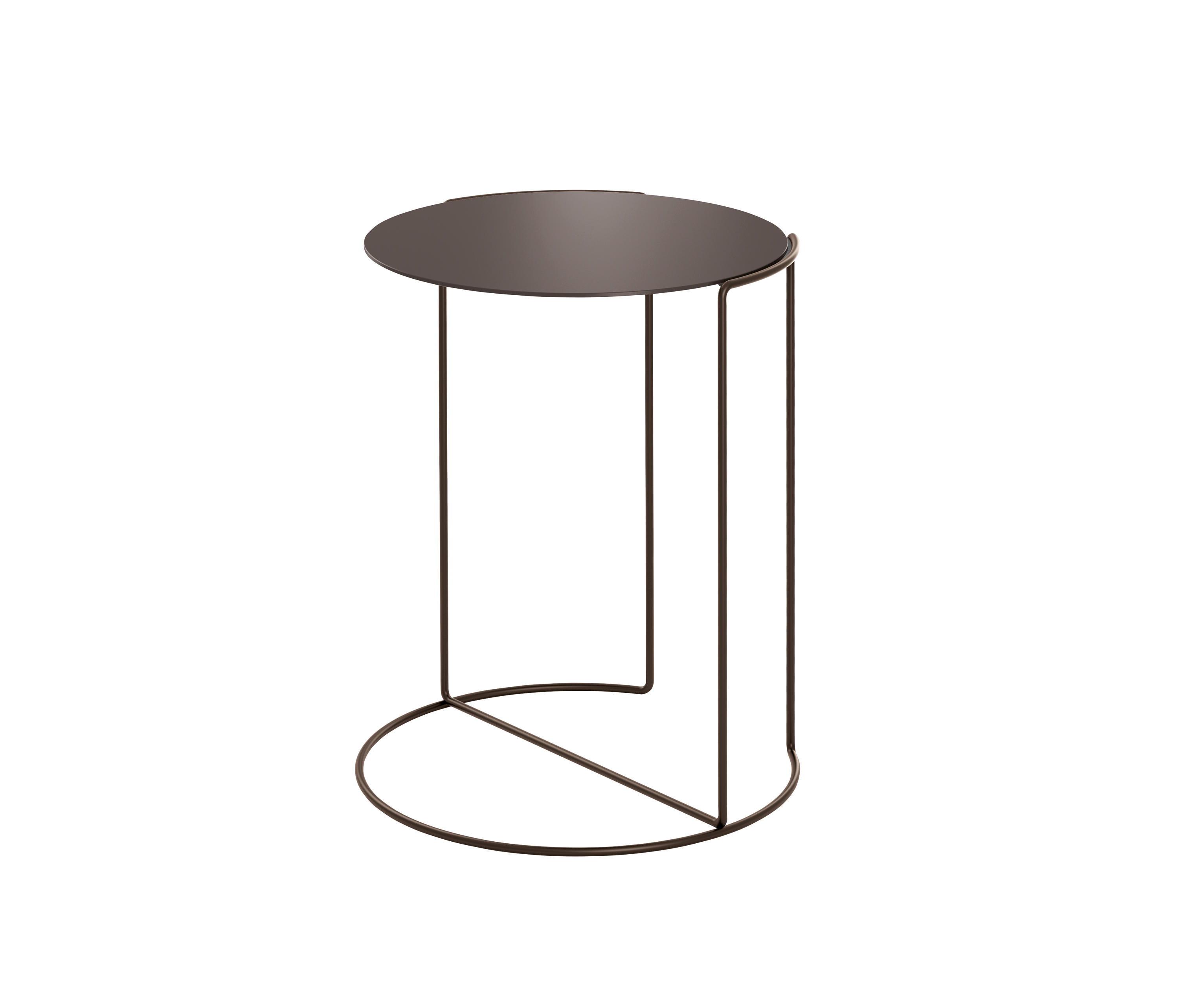 Oki occasional table bronze side tables from walter for Occasional table manufacturers