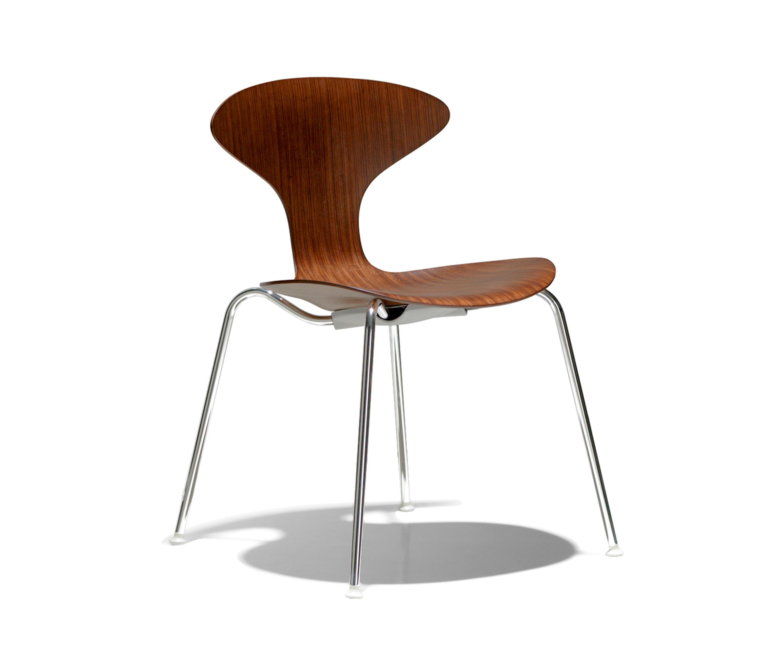 ORBIT WOOD Restaurant chairs from Bernhardt Design