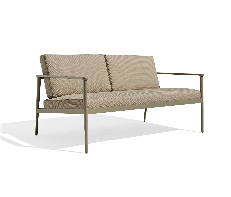 Vint 2 Seater Sofa By Bivaq | Garden Sofas