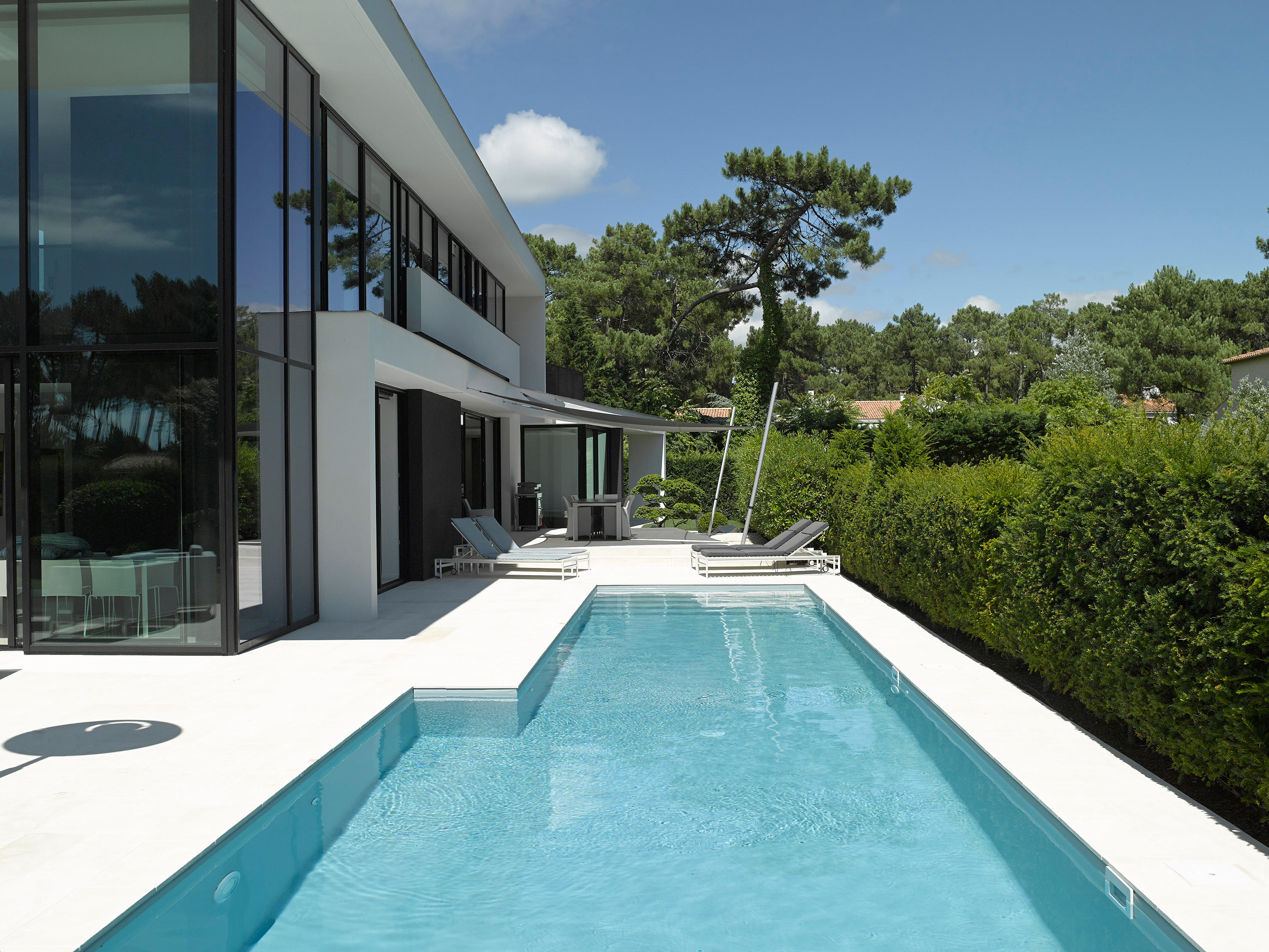 LAP POOL - Swimming pools from Piscines Carré Bleu | Architonic