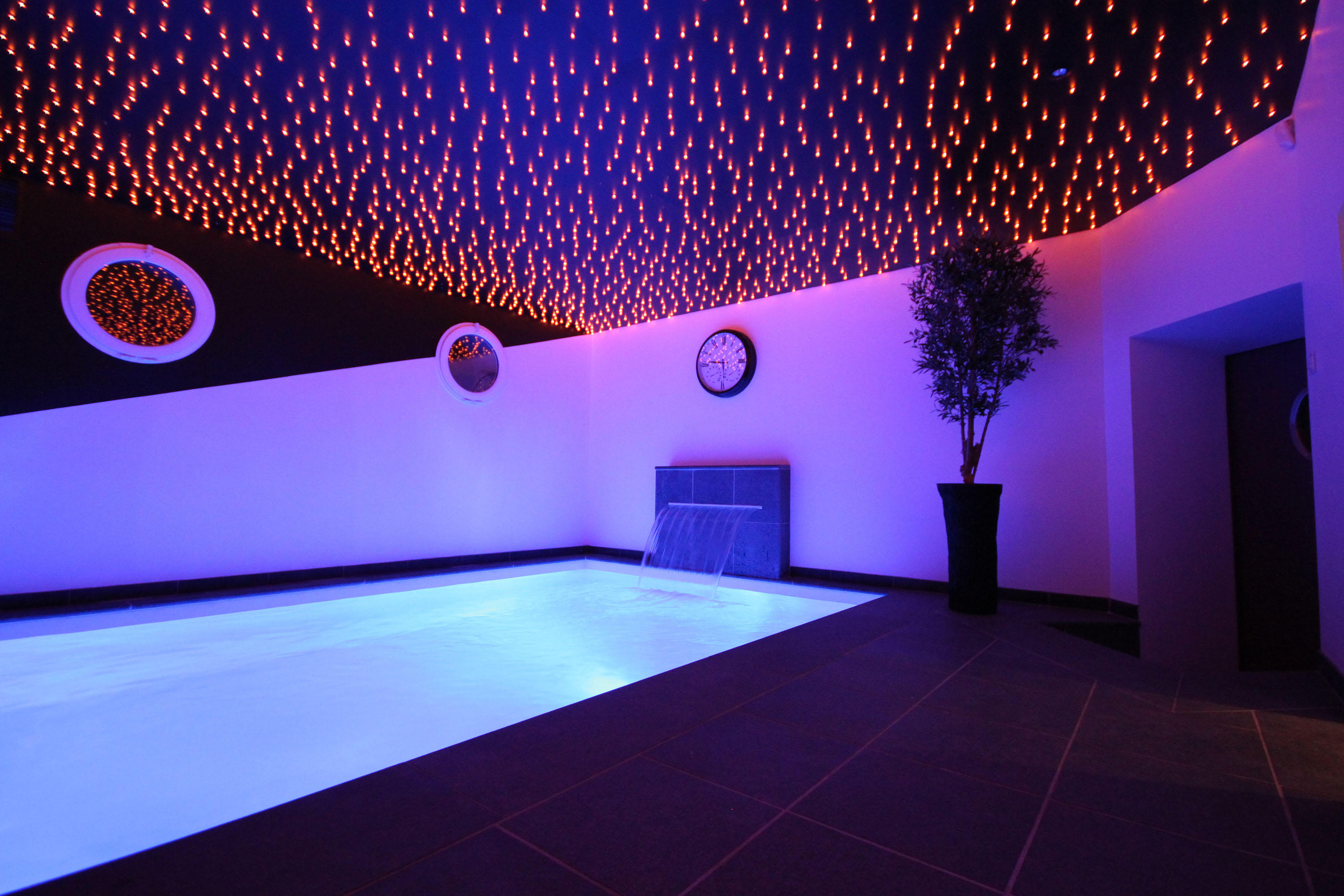 Indoor home pool for Interieur design