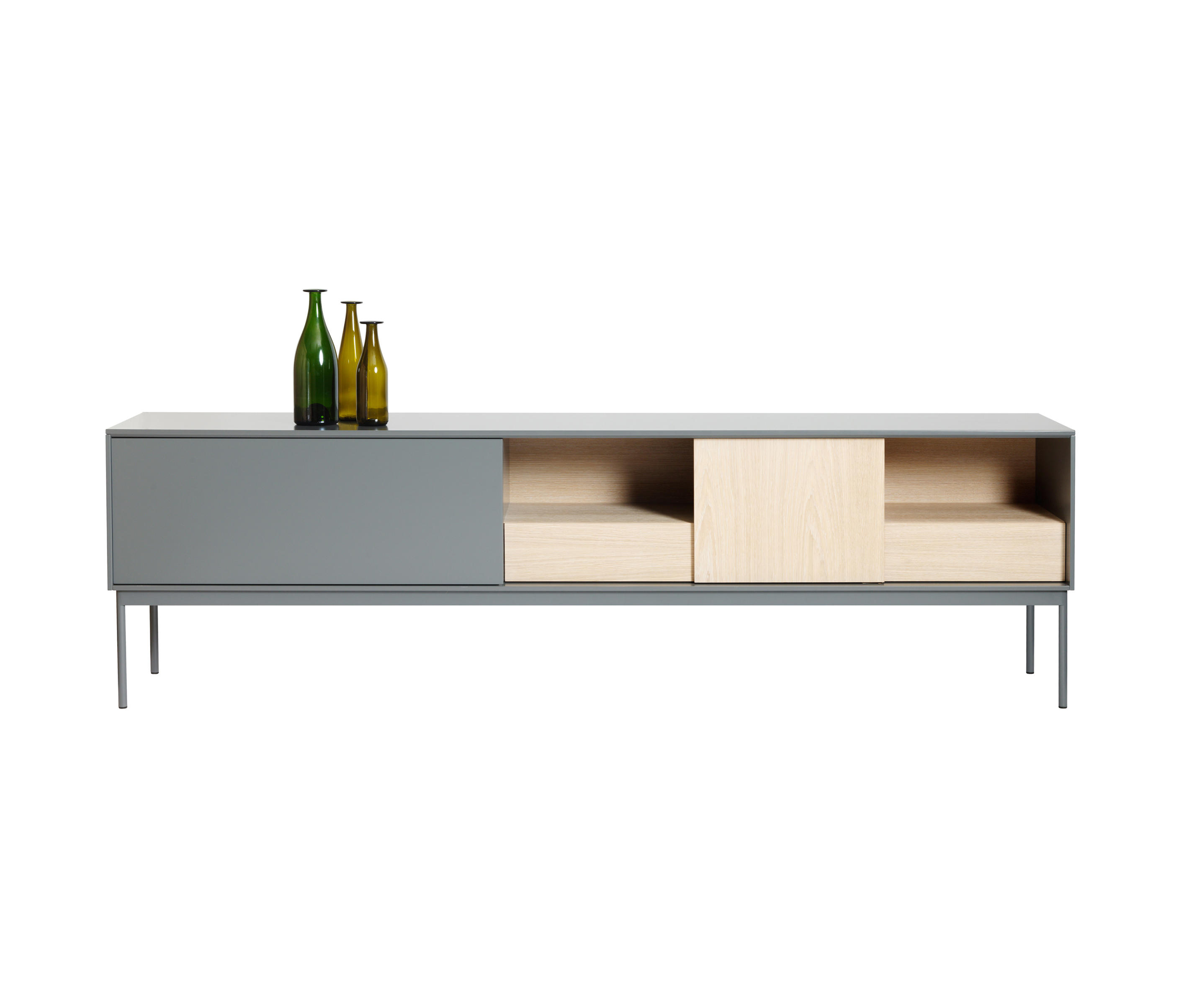 Besson cabinet 240 low sideboards from asplund architonic for Sideboard 240