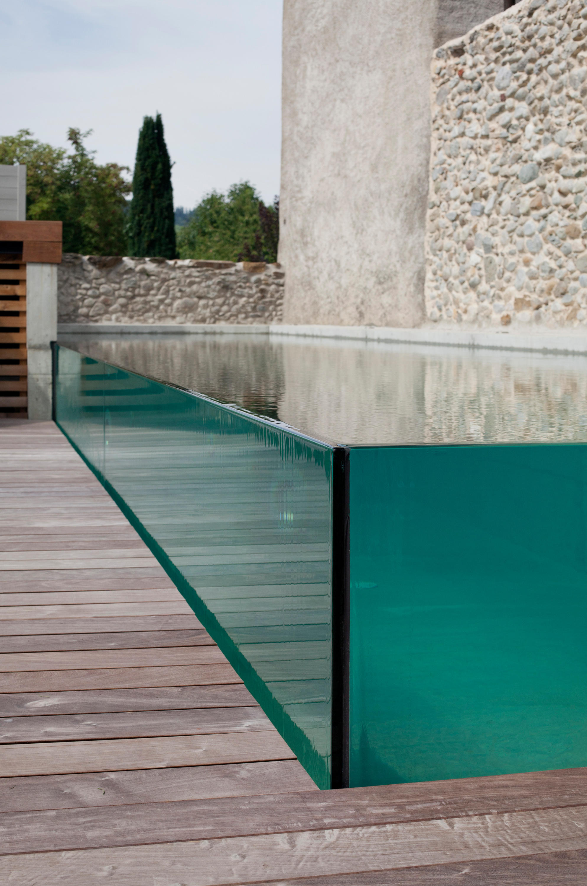 Excelsior glass swimming pool swimming pools from piscines carr bleu architonic - Verre filtrant piscine ...