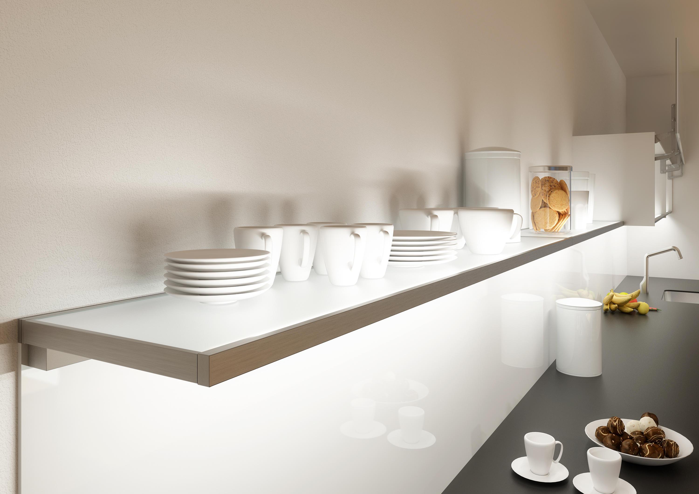 ... Glass shelf | GERA light system 4 by GERA | Shelving ... & GLASS SHELF | GERA LIGHT SYSTEM 4 - Shelving from GERA | Architonic