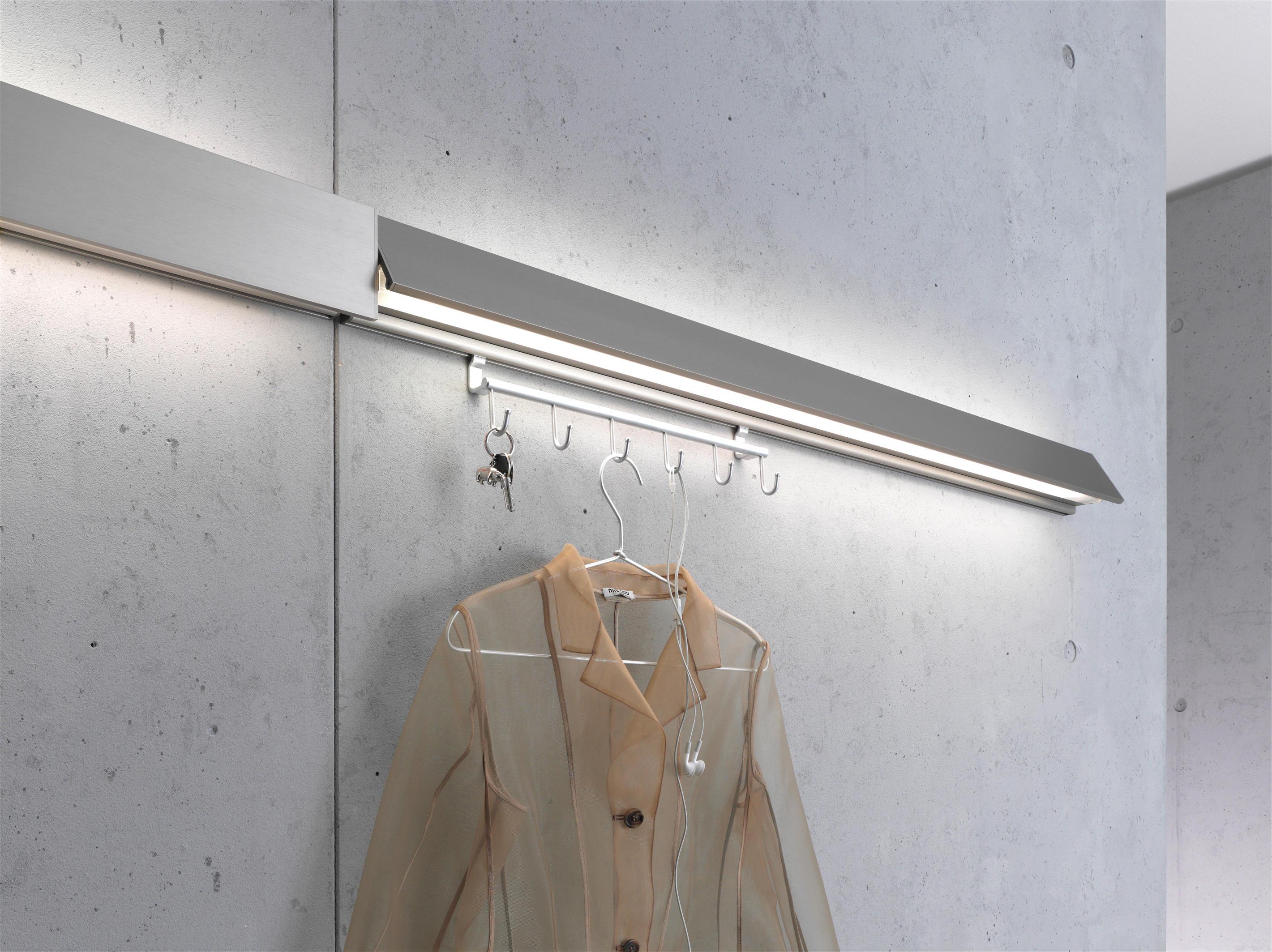 ... Coat rack light | GERA light system 8 by GERA | Wall lights & COAT RACK LIGHT | GERA LIGHT SYSTEM 8 - Wall lights from GERA ...