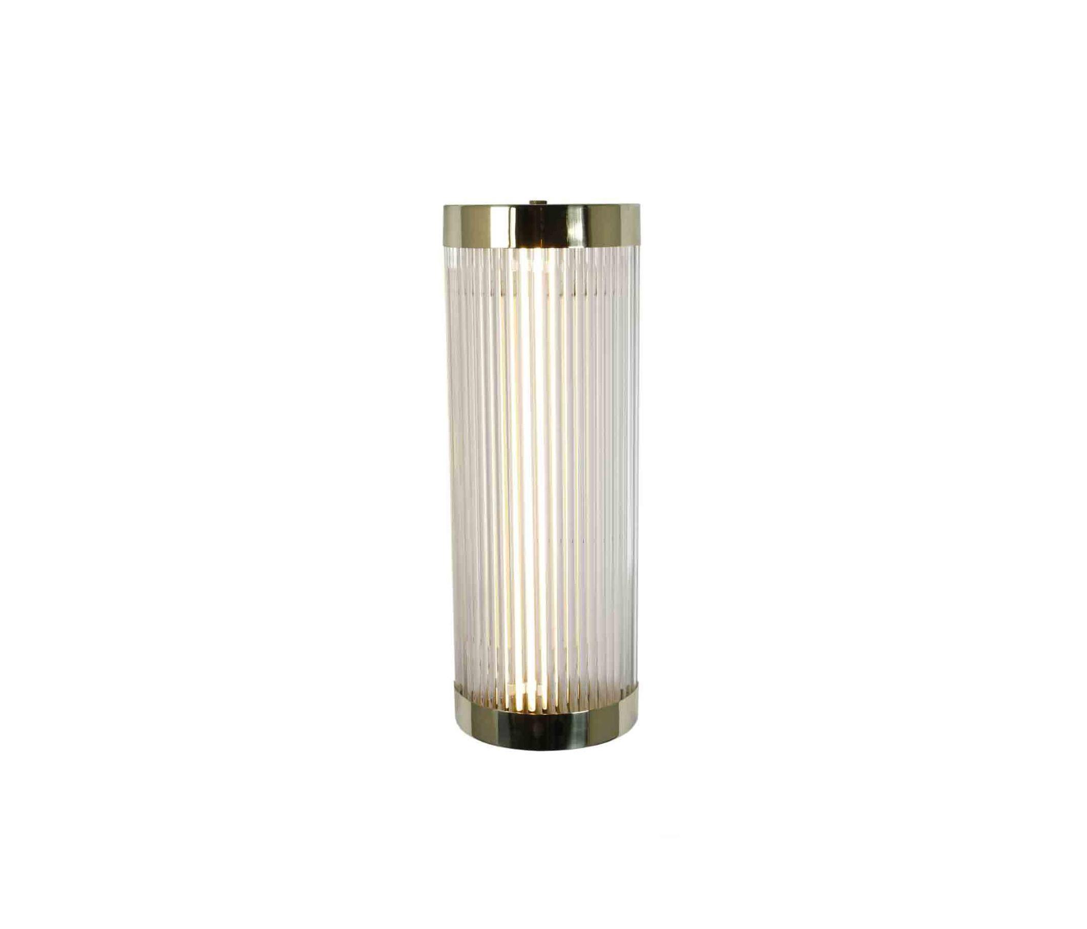7210 Pillar Led Wall Light 40 15cm Polished Br By Original Btc