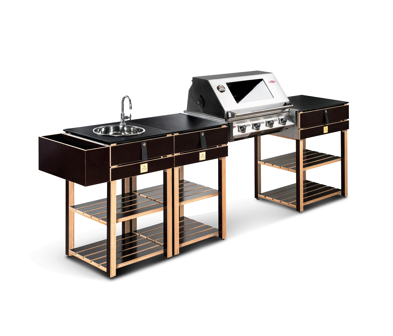 Modular Bbq Outdoor Kitchen: EDITION WOOD BBQ - Außenküchen Von OCQ