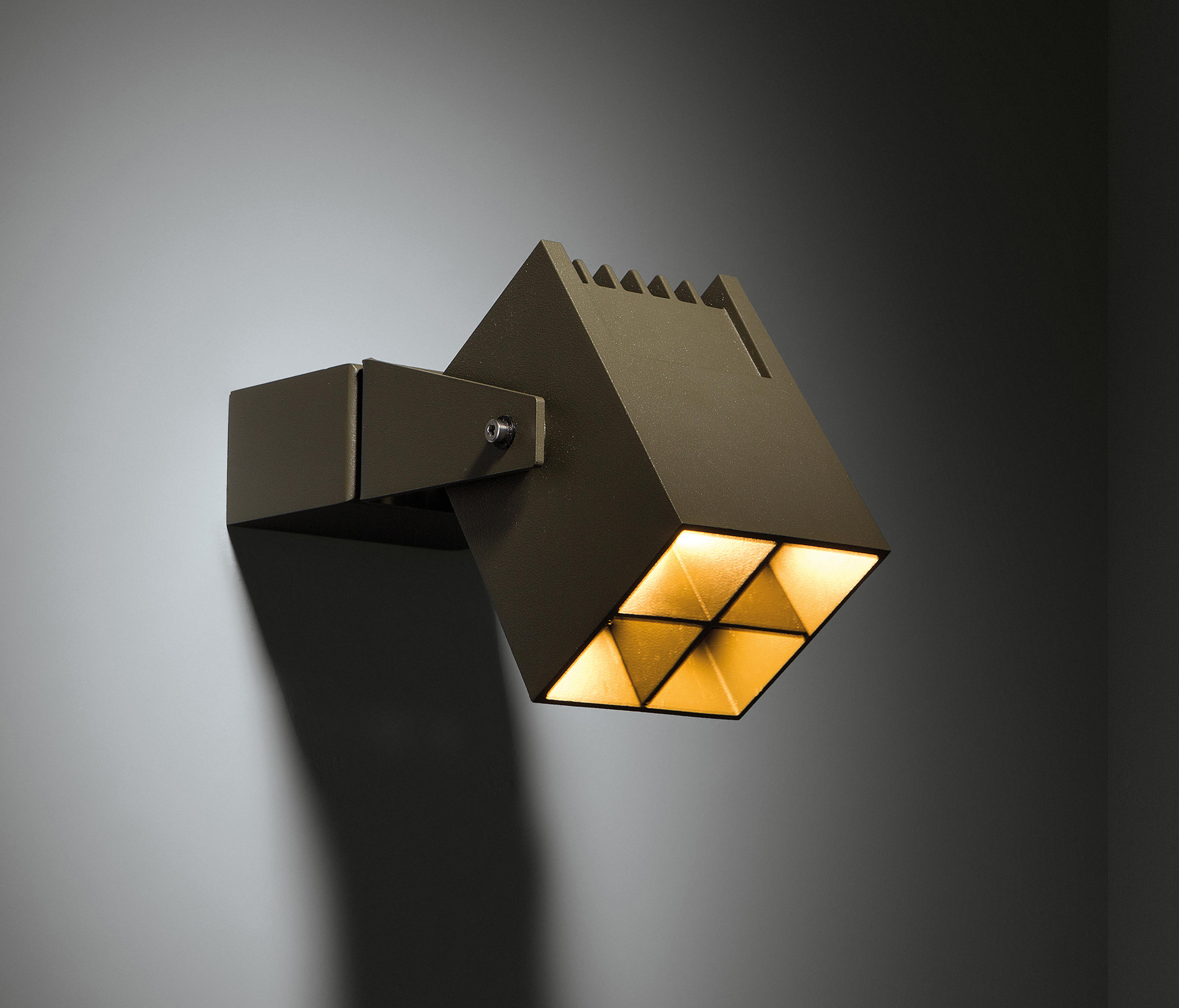 Julien Square Ip54 Led Ge Outdoor Wall Lights From