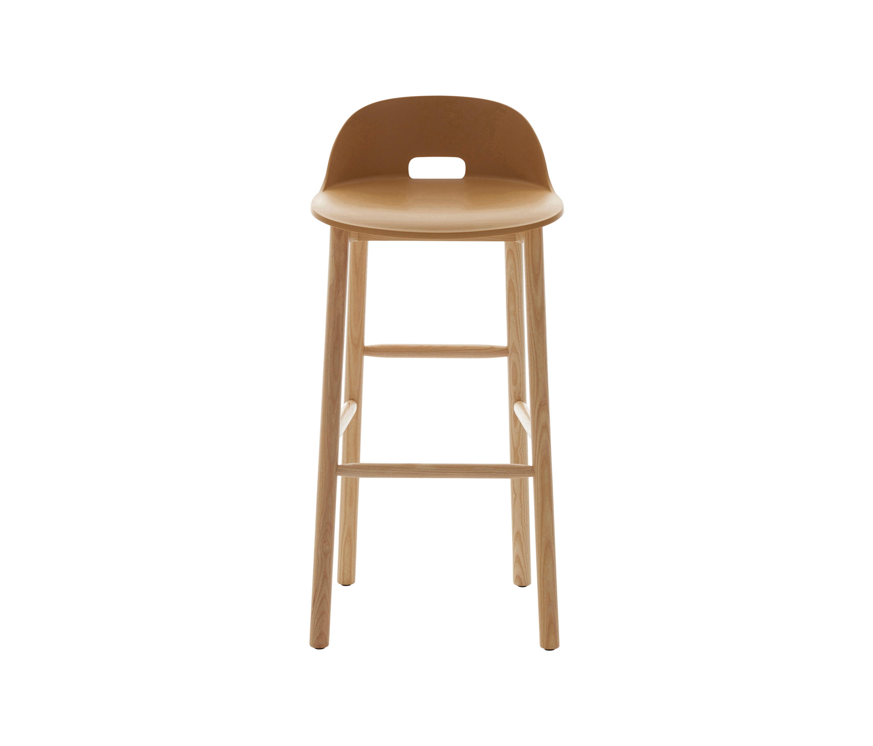 Alfi Barstool Low Back Bar Stools From Emeco Architonic