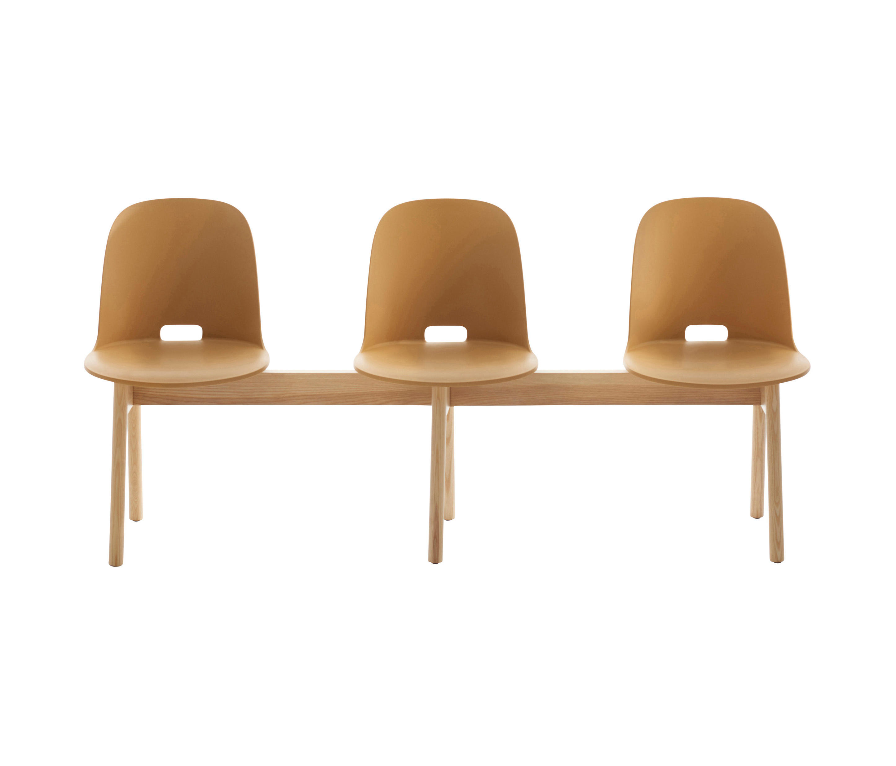 Alfi Bench High Back Beam Traverse Seating From Emeco Architonic