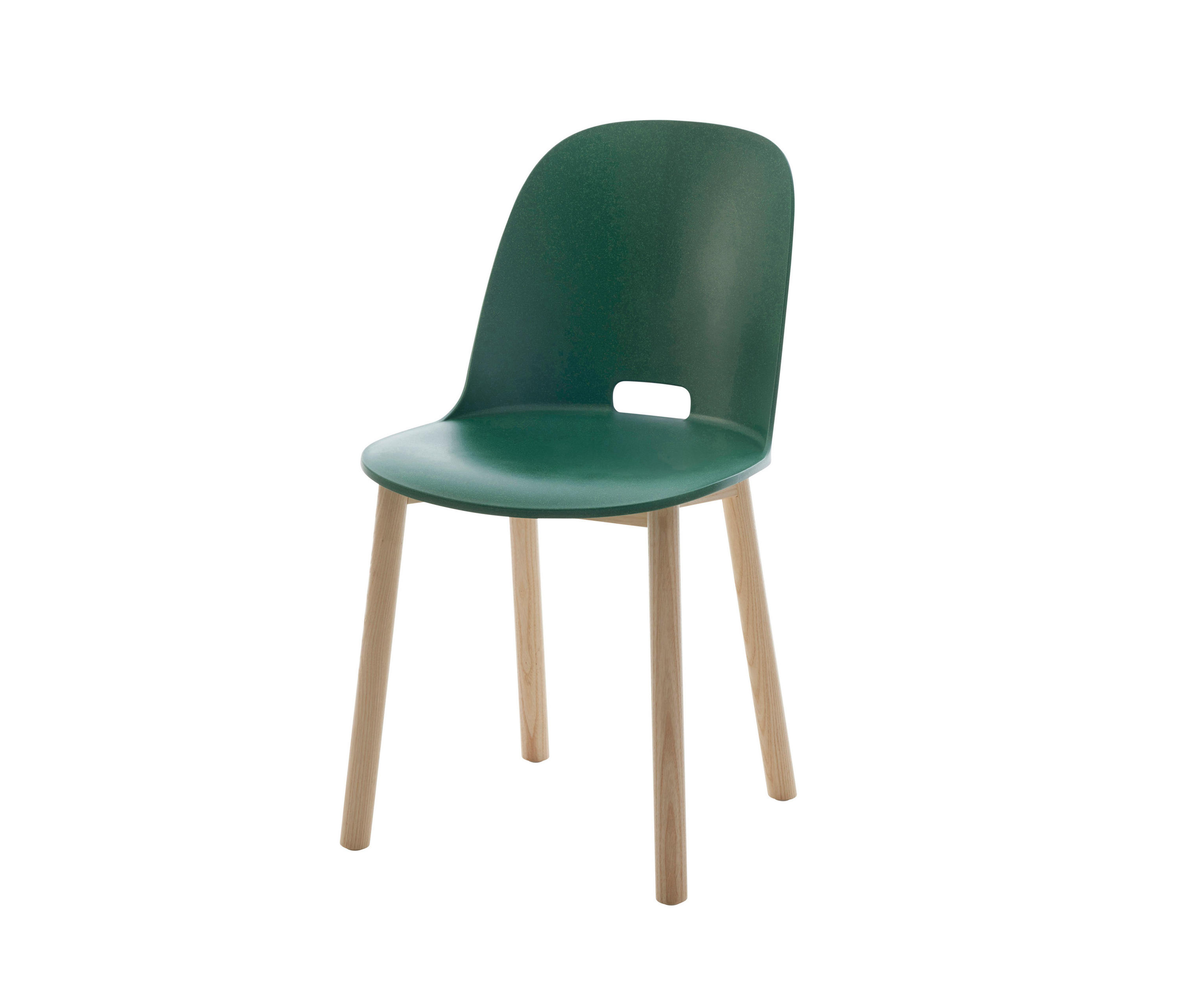 Broom chair for emeco in 2012 to showcase the properties of a new wood - Alfi Chair High Back Restaurant Chairs Emeco