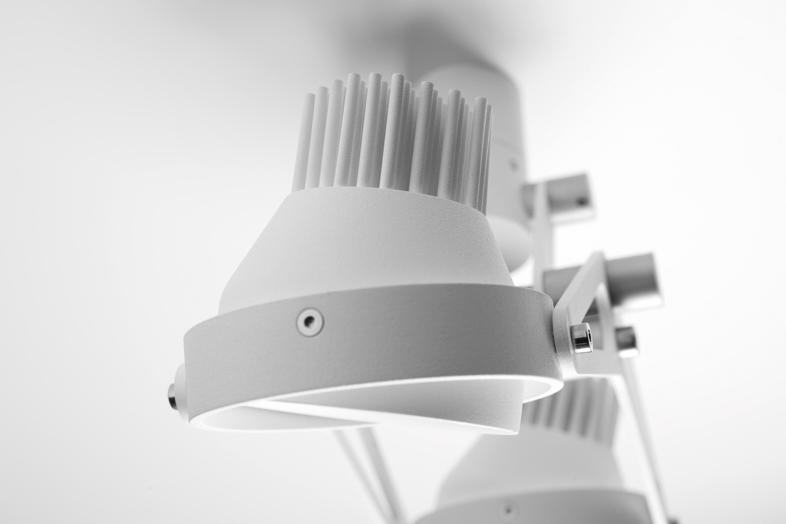 Plafoniere Smart : Nomad for smart rings led ge lampade plafoniere modular