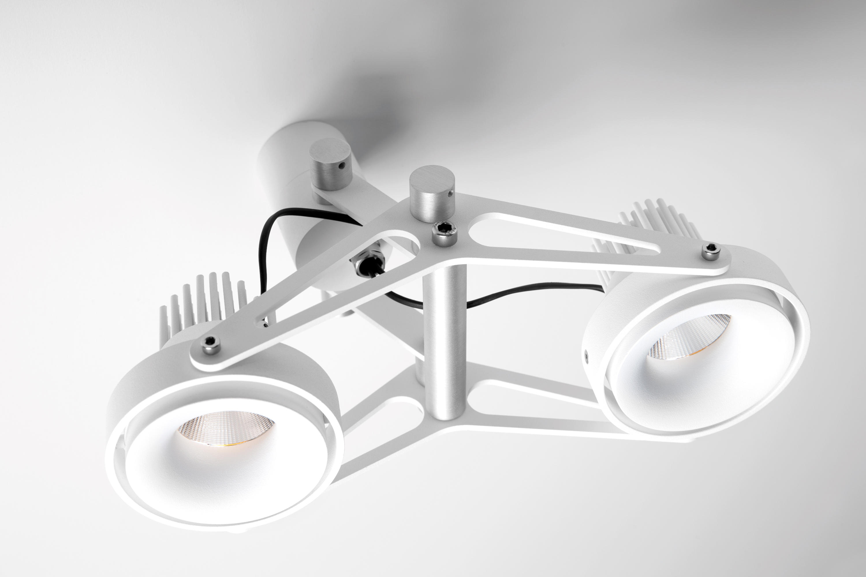 Nomad For Smart Rings 2x LED GE By Modular Lighting Instruments | Ceiling Mounted  Spotlights ...