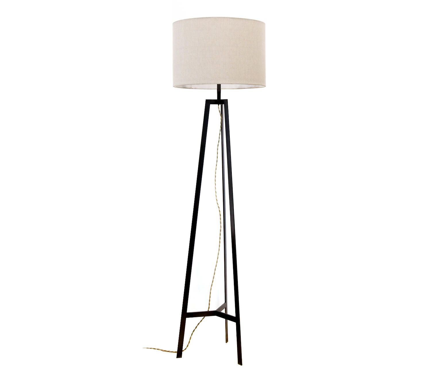 Tripod Lamp Black Free Standing Lights From Farrah Sit