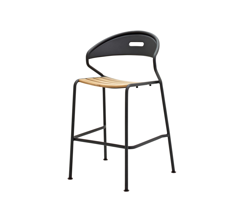 Curve bar chair garten barhocker von gloster furniture for Barhocker garten