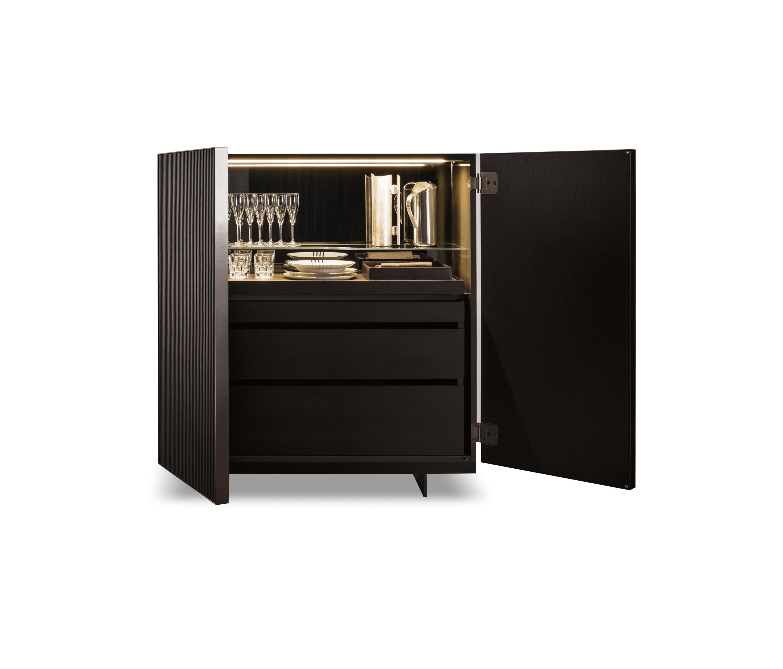 aylon barschr nke hausbars von minotti architonic. Black Bedroom Furniture Sets. Home Design Ideas