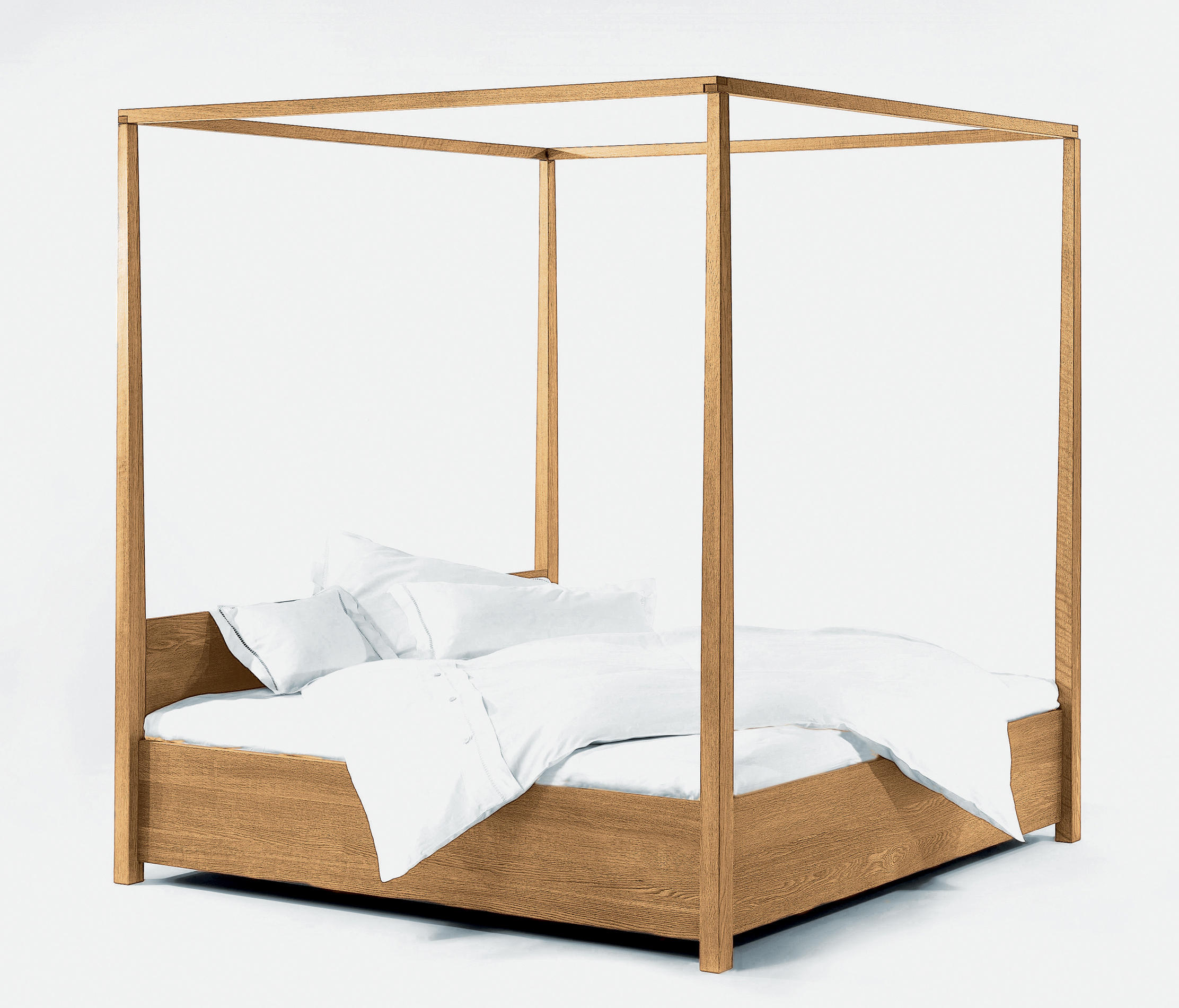 arkadia himmelbett 180 four poster beds from lambert architonic. Black Bedroom Furniture Sets. Home Design Ideas