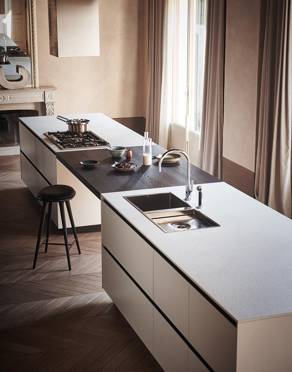 Maxima 2 2 composition 3 fitted kitchens from cesar for Map arredamenti