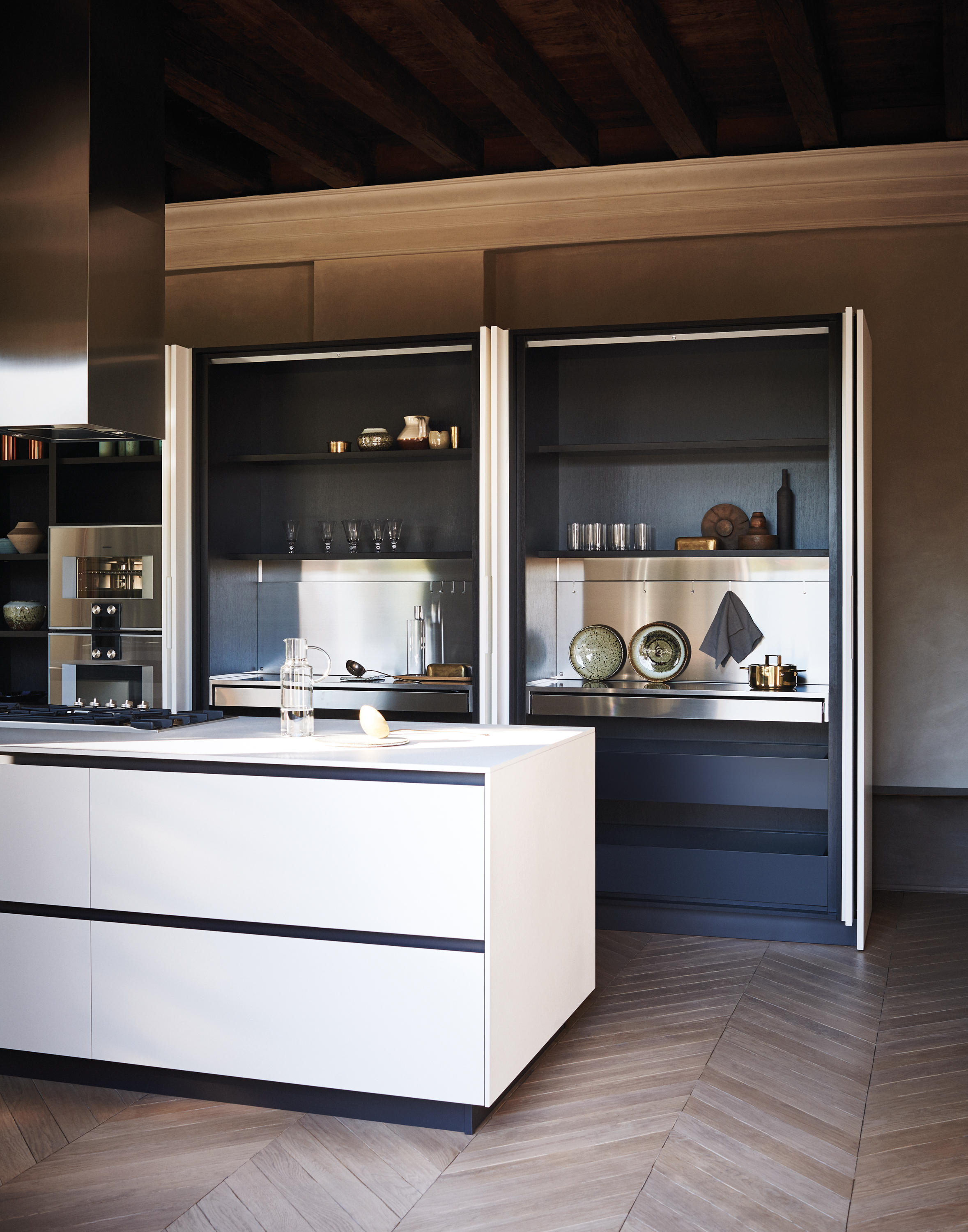 Maxima 2 2 composition 3 fitted kitchens from cesar for Cesar arredamenti