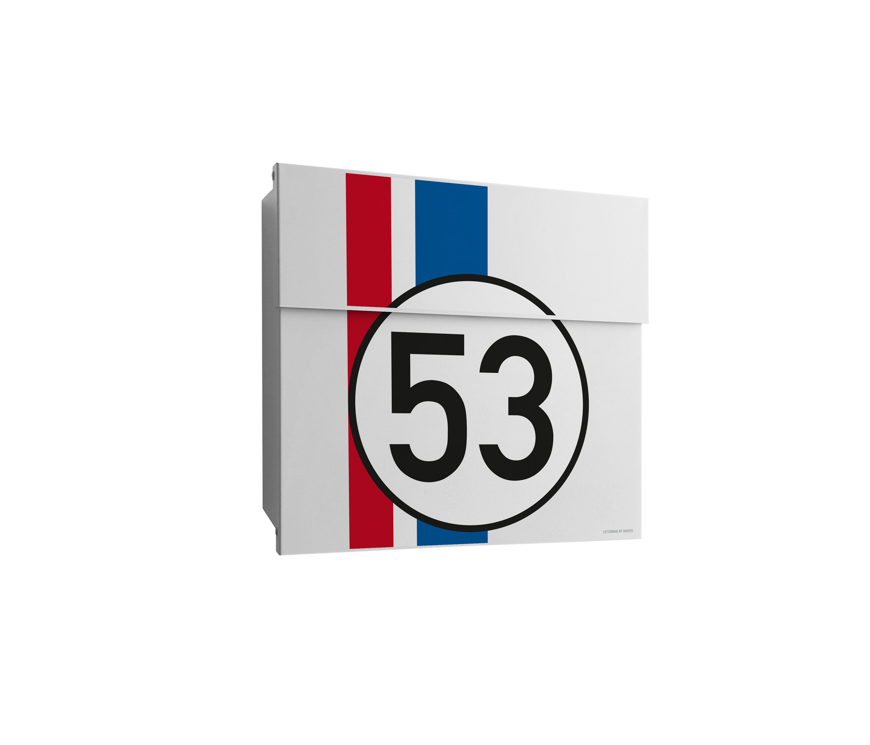 Letterman V Briefkasten letterman racing edition briefkasten mailboxes from radius design